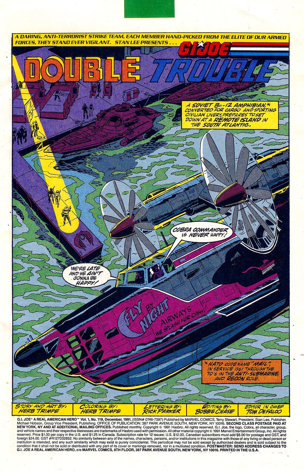 G.I. Joe: A Real American Hero 119 Page 2