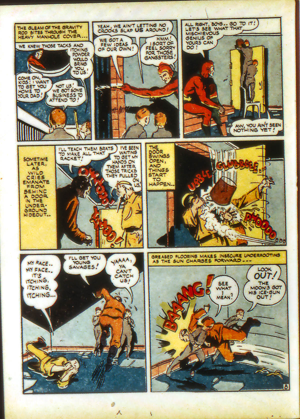 Read online Adventure Comics (1938) comic -  Issue #89 - 36