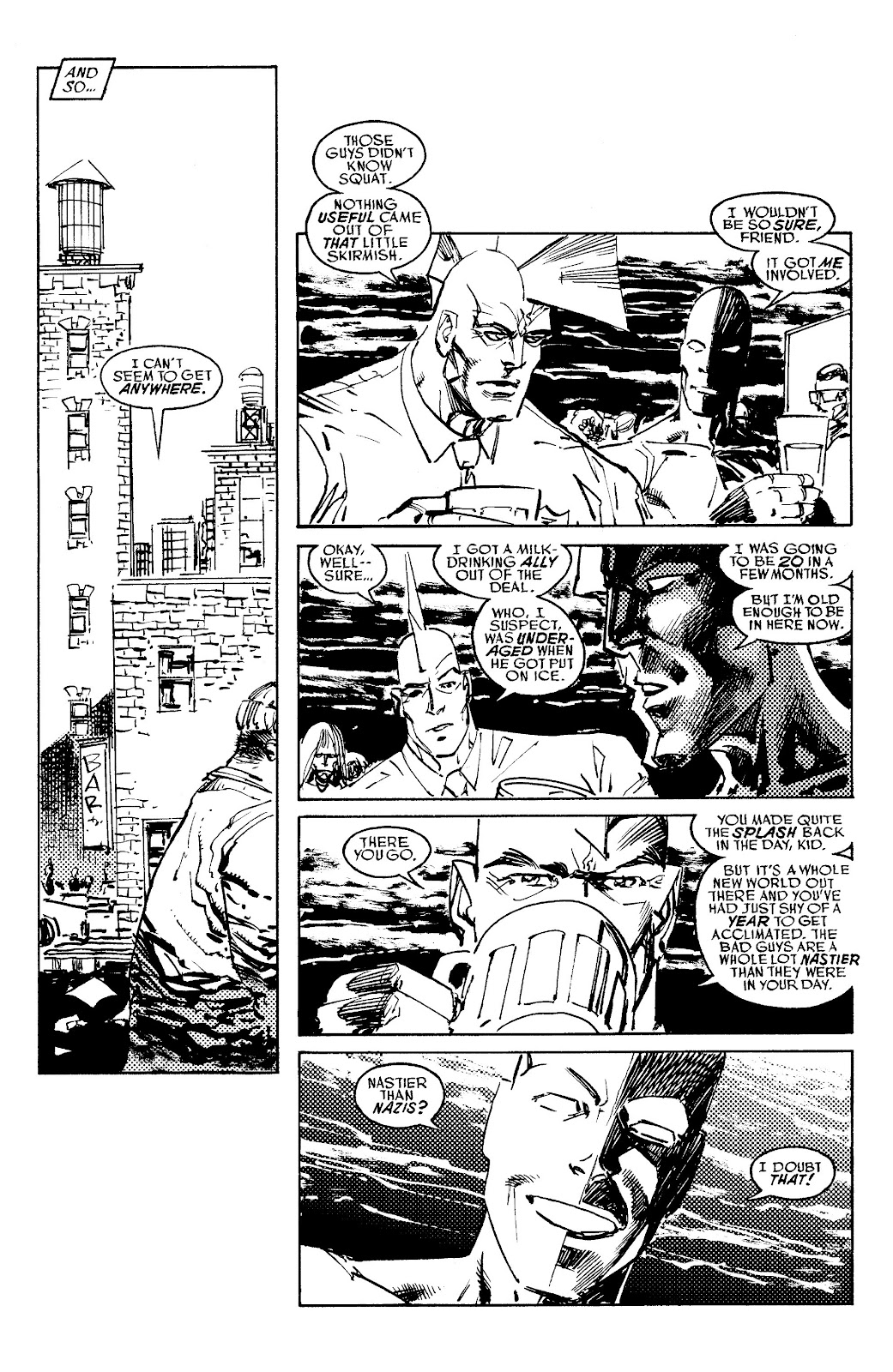 Read online Savage Dragon Archives comic -  Issue # TPB 6 (Part 5) - 37