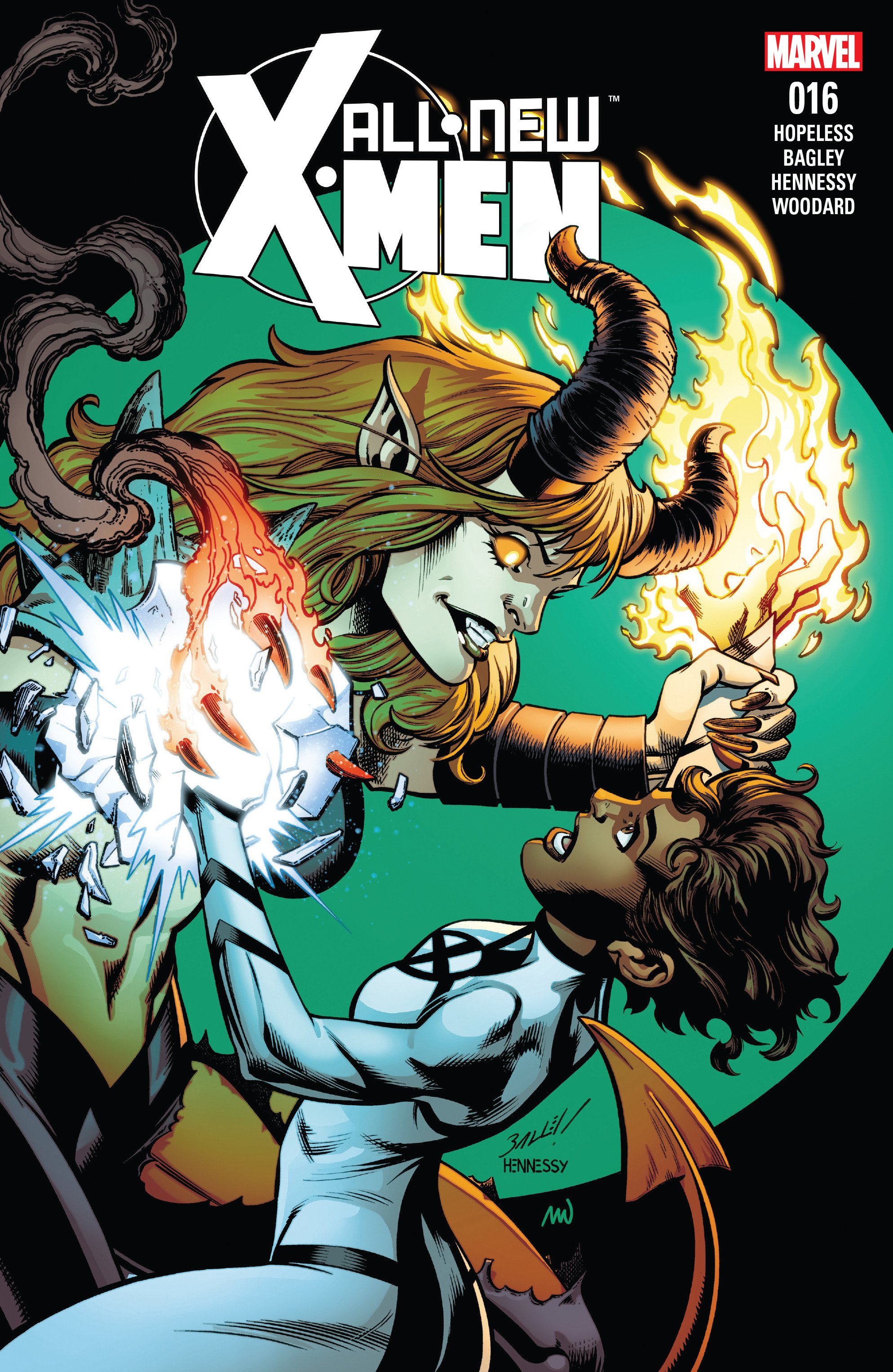 Read online All-New X-Men (2016) comic -  Issue #16 - 1