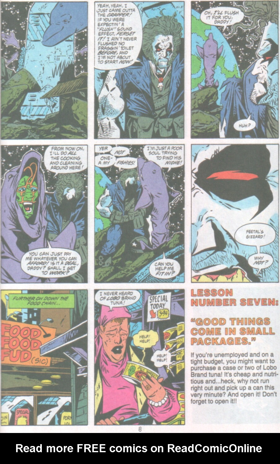 Read online Ambush Bug Nothing Special comic -  Issue # Full - 9