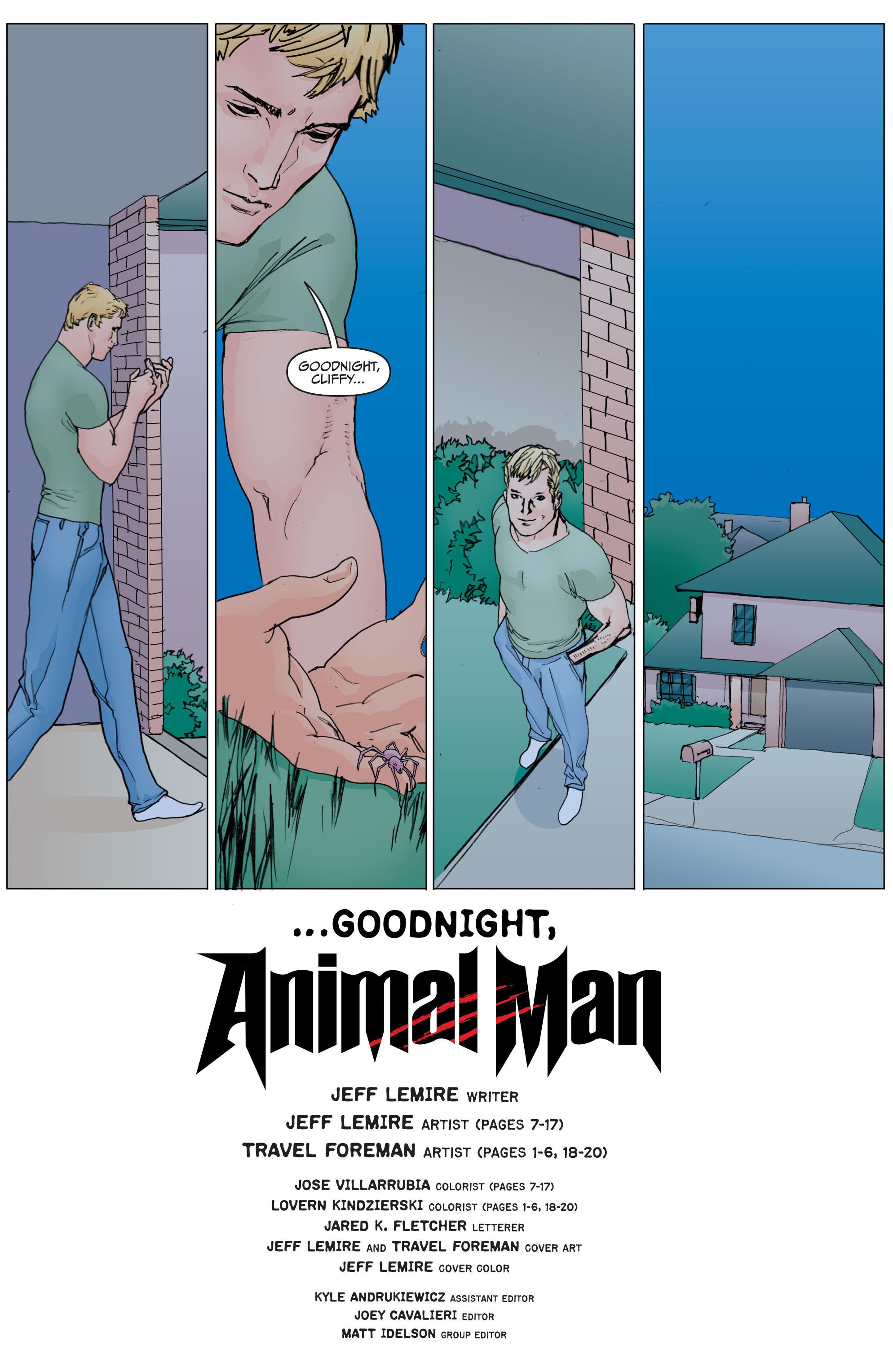 Read online Animal Man (2011) comic -  Issue #29 - 20