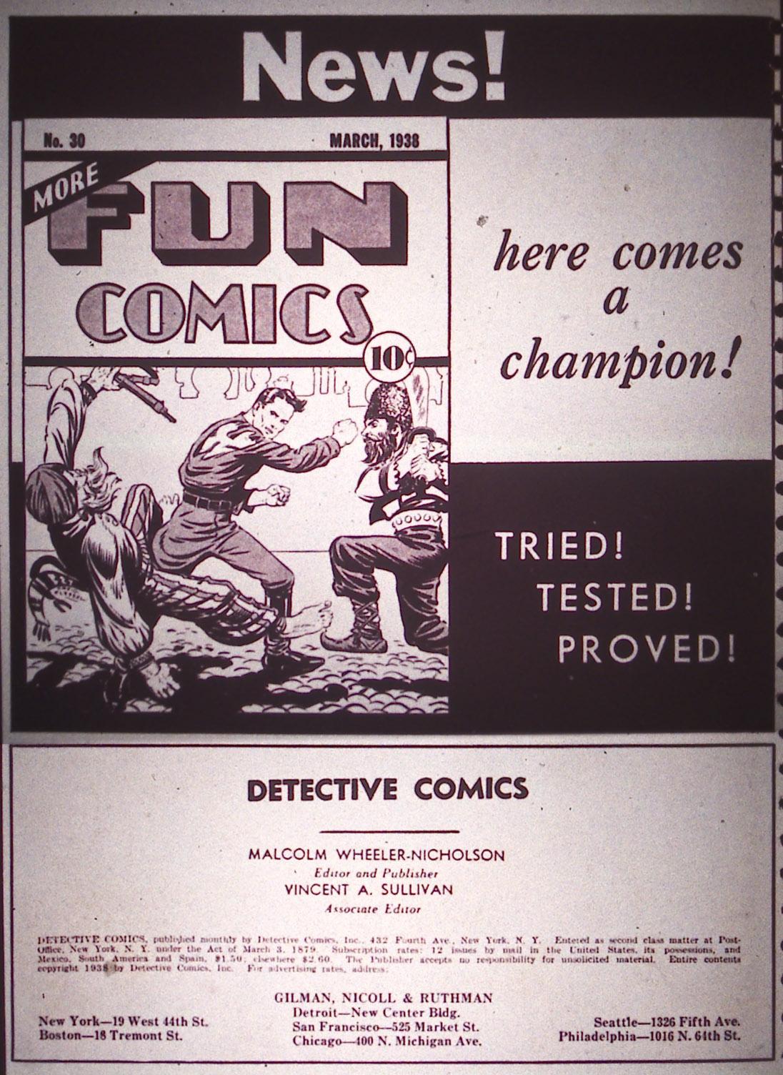 Detective Comics (1937) 13 Page 1