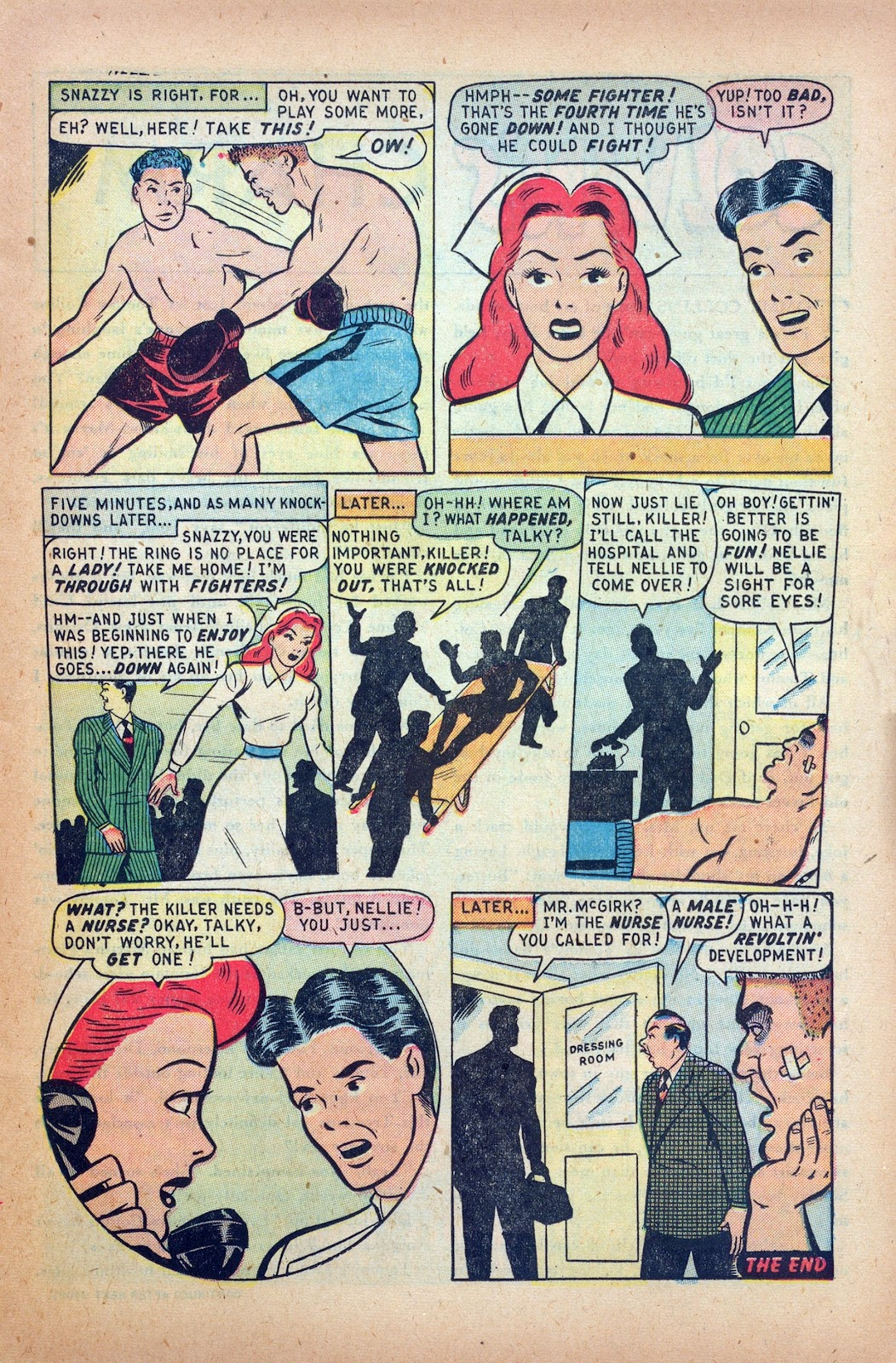 Read online Nellie The Nurse (1945) comic -  Issue #24 - 15