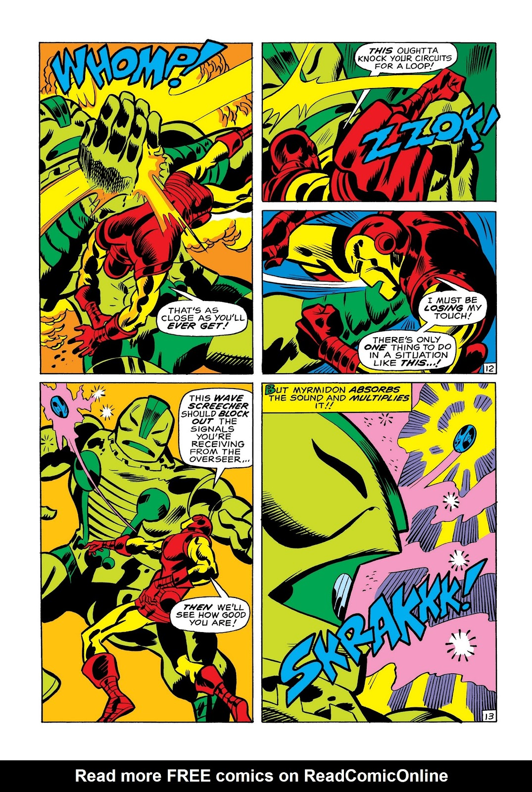 Read online Marvel Masterworks: The Invincible Iron Man comic -  Issue # TPB 7 (Part 1) - 81