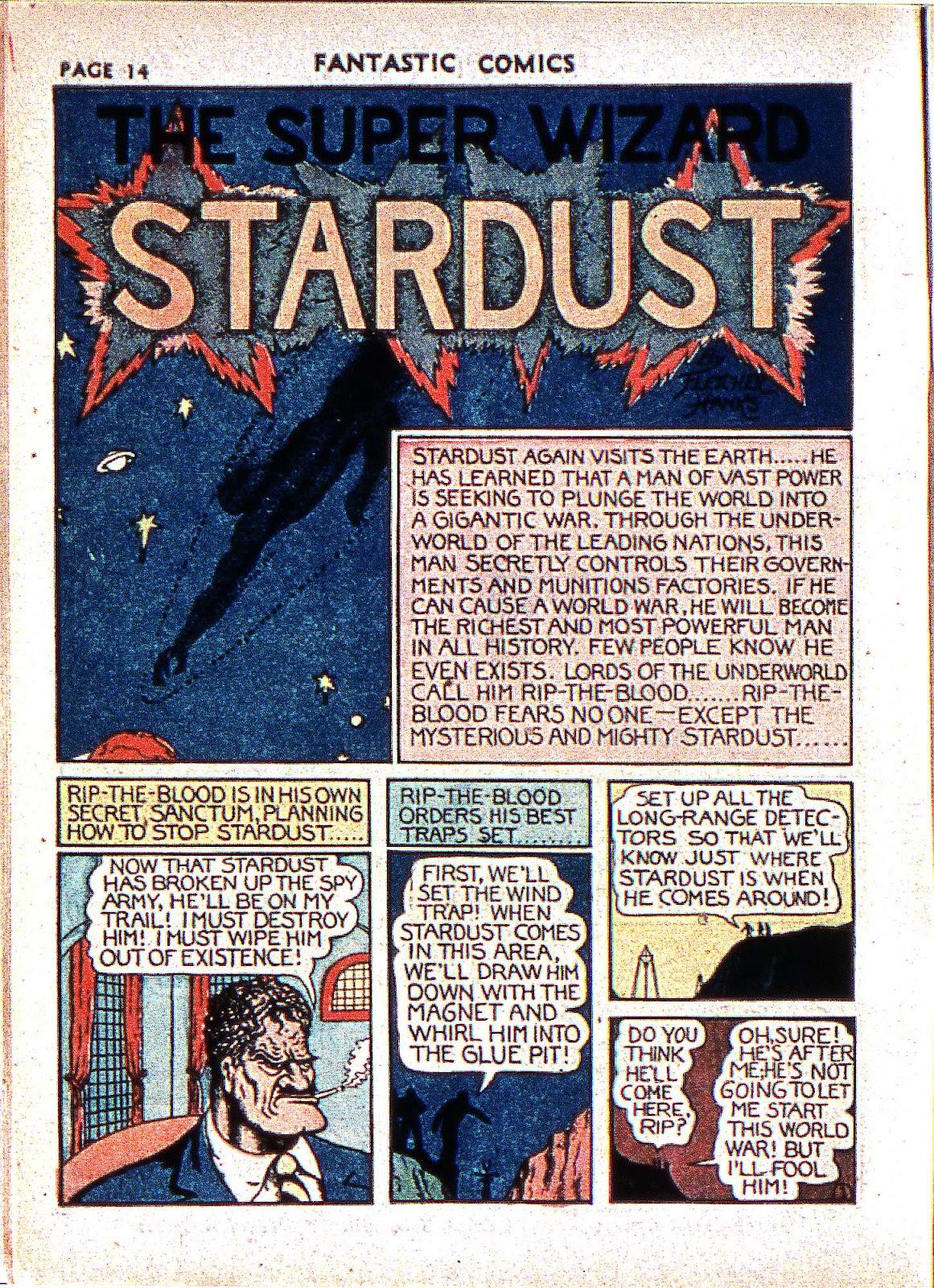 Read online Fantastic Comics comic -  Issue #2 - 16