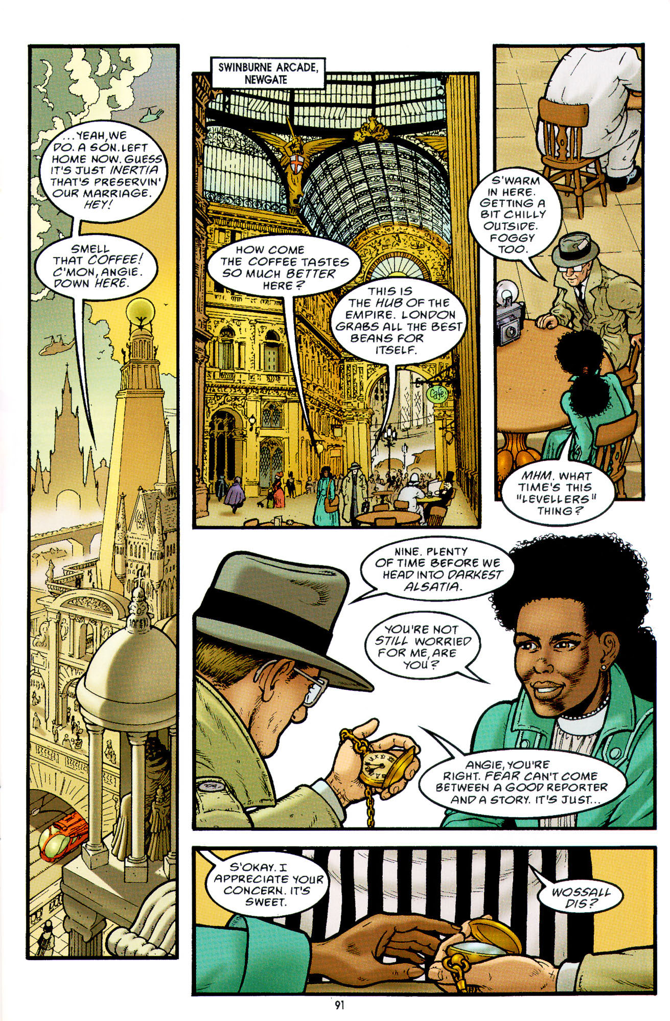 Read online Heart of Empire comic -  Issue #3 - 33