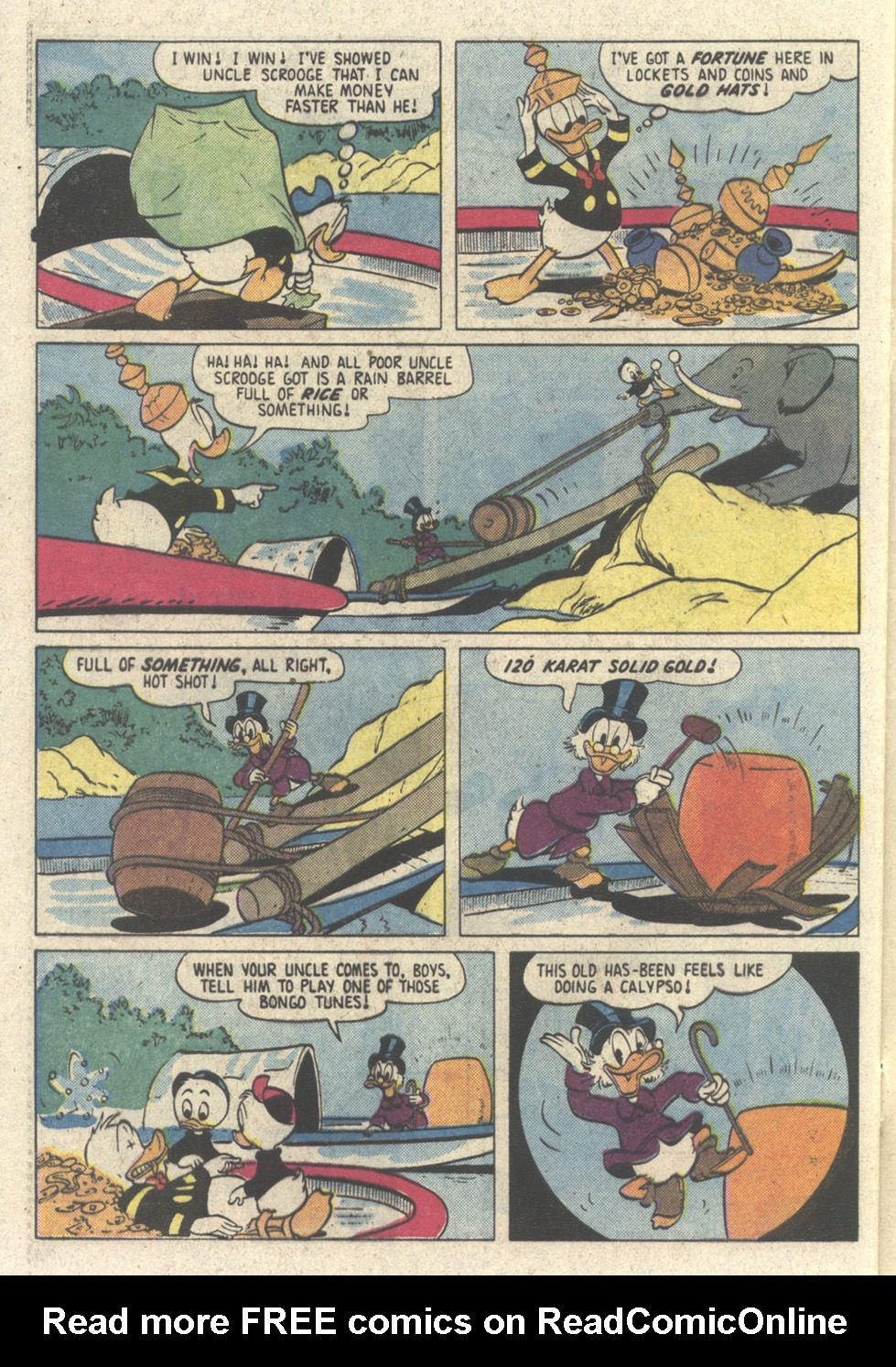 Read online Uncle Scrooge (1953) comic -  Issue #213 - 28