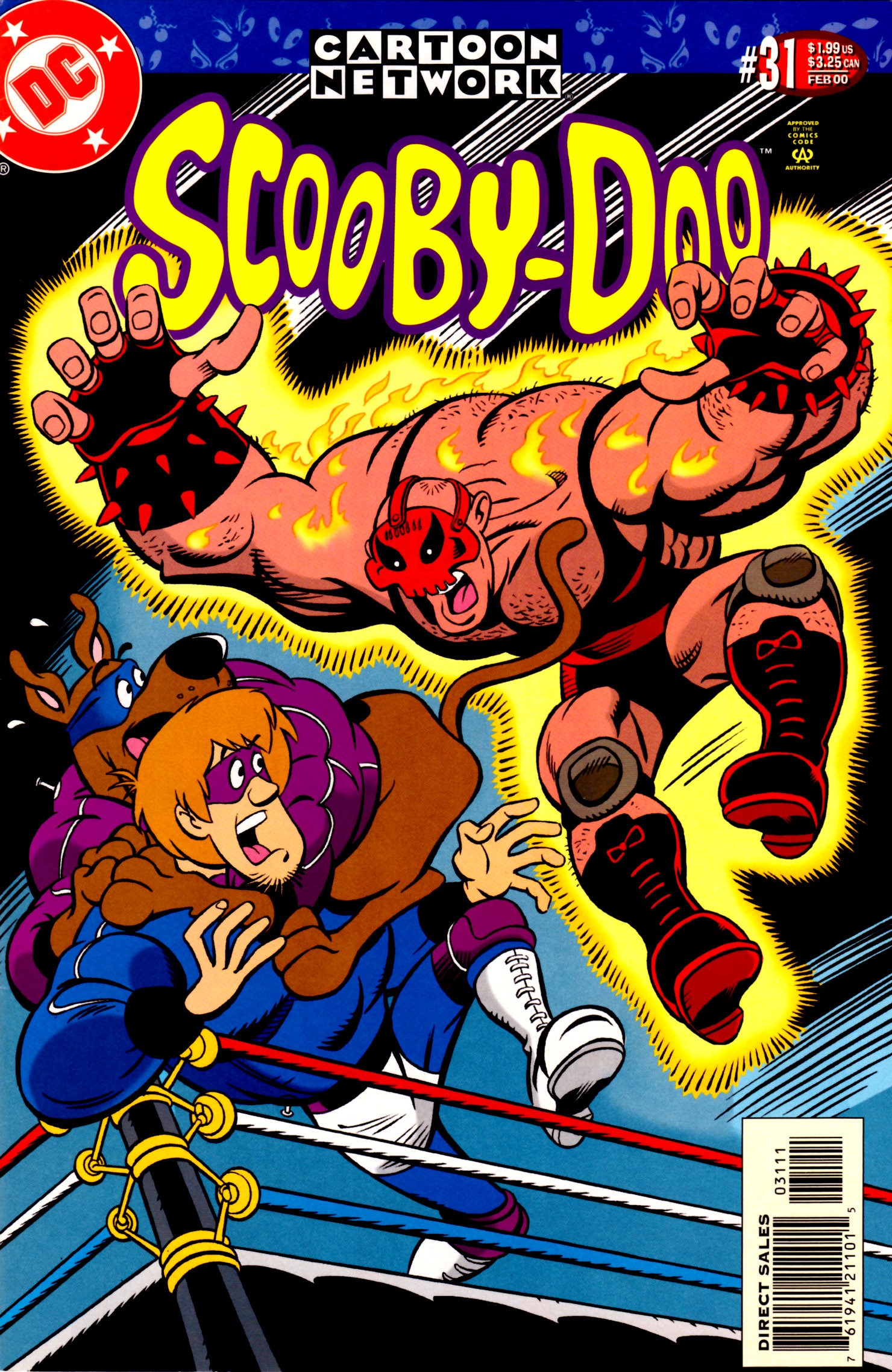 Read online Scooby-Doo (1997) comic -  Issue #31 - 1