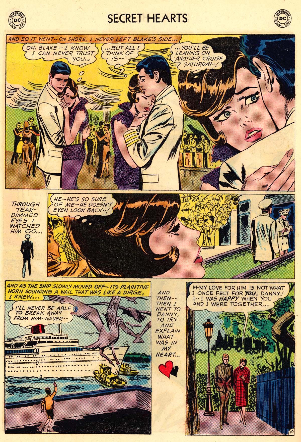 Read online Secret Hearts comic -  Issue #106 - 28