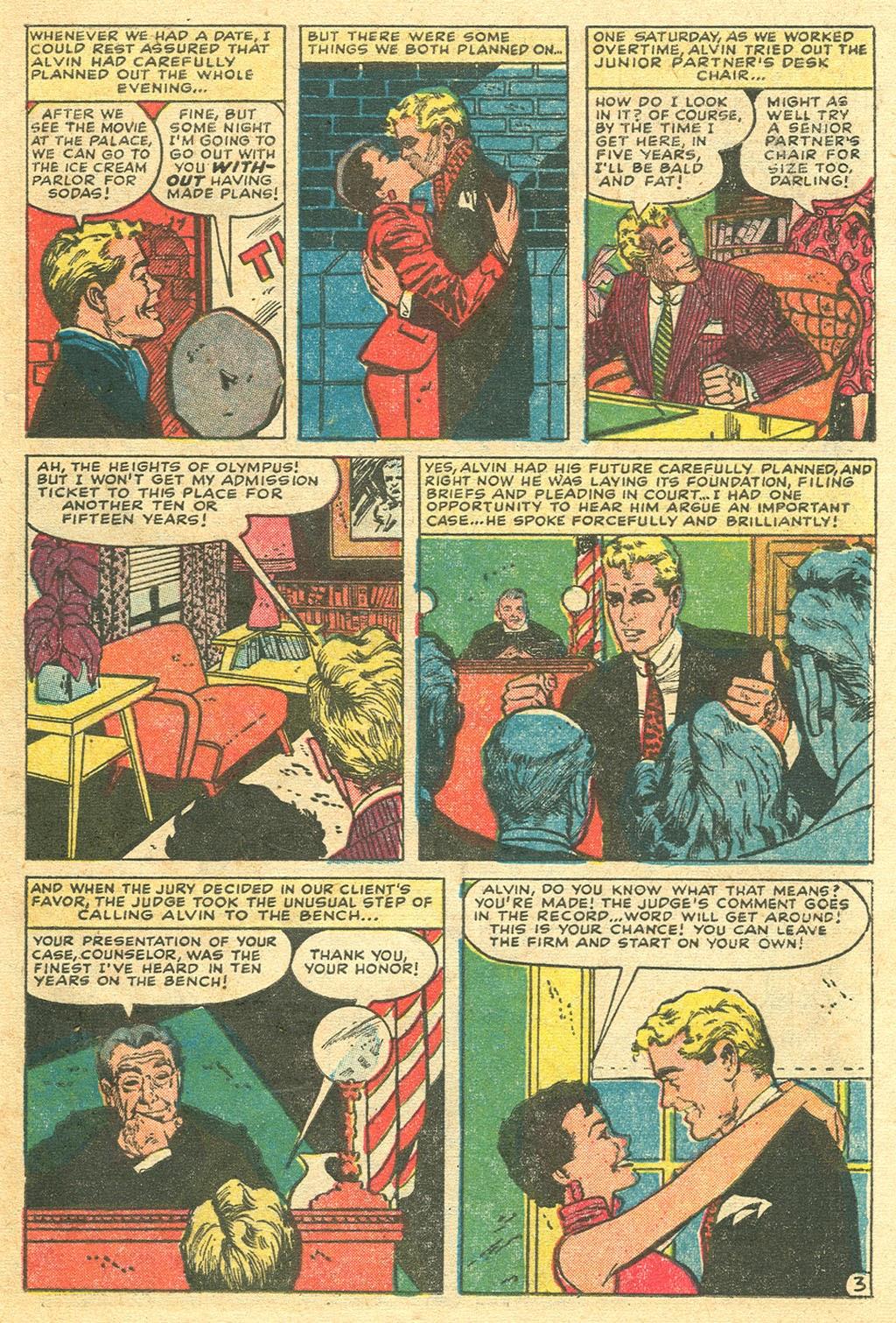 Love Romances (1949) issue 48 - Page 29