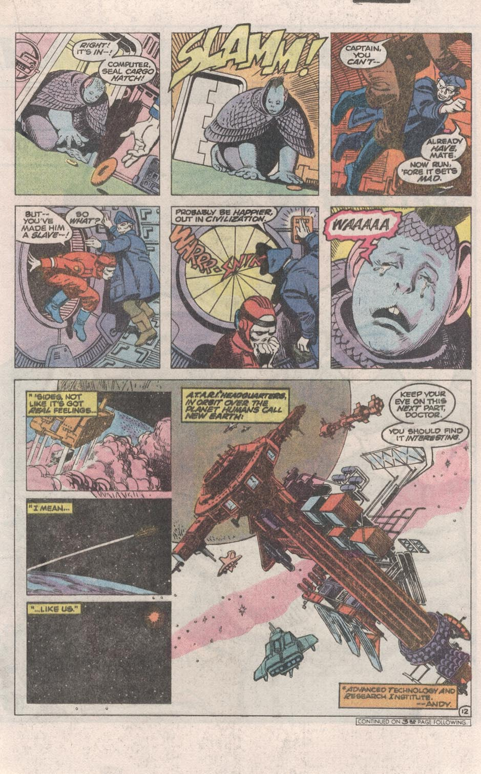 Read online Atari Force (1984) comic -  Issue #1 - 13