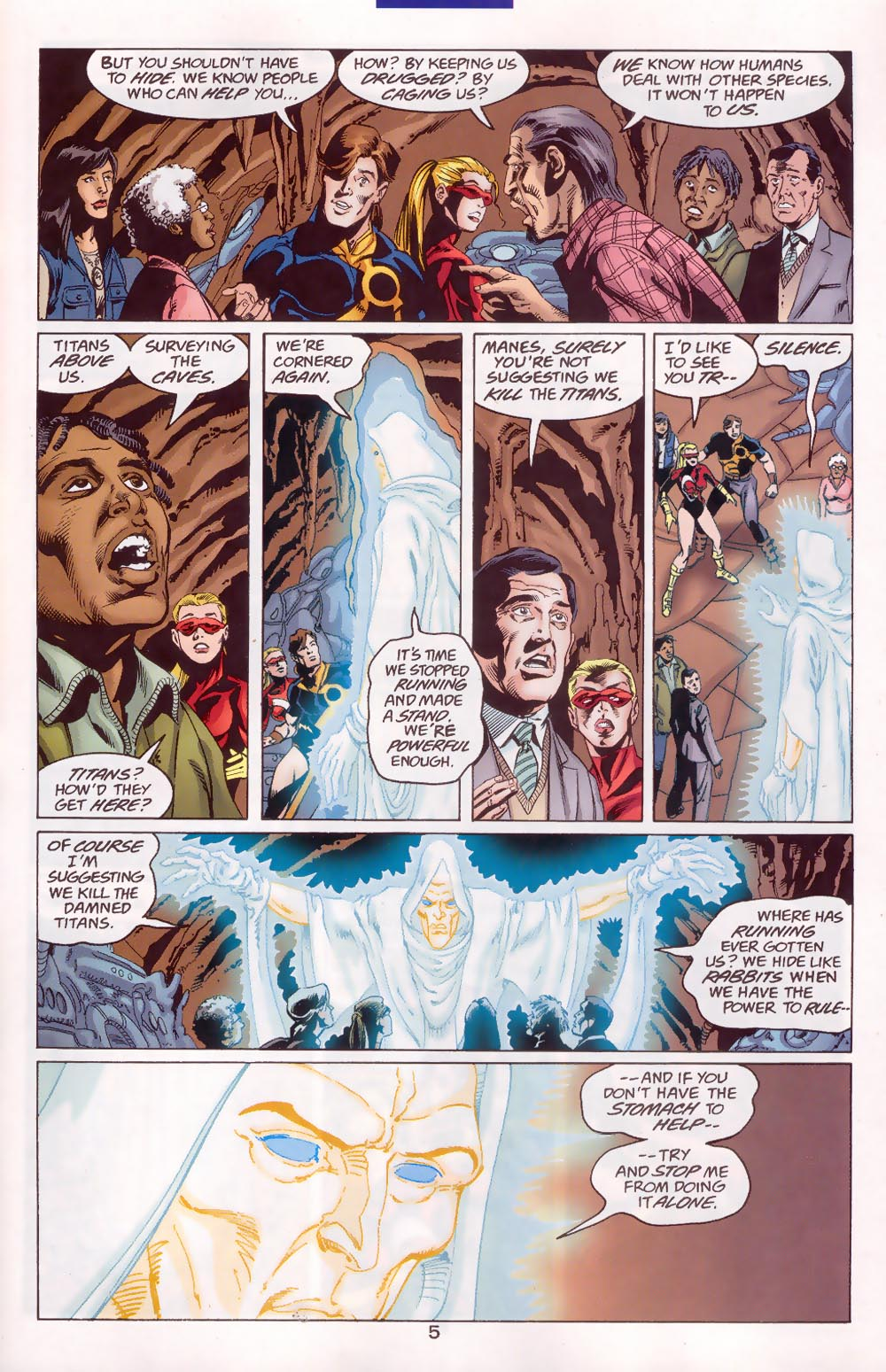Read online The Titans (1999) comic -  Issue #46 - 6