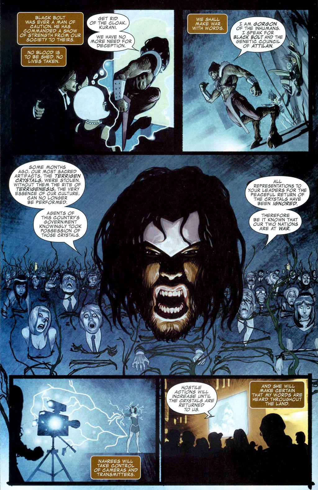 Read online Silent War comic -  Issue #1 - 6