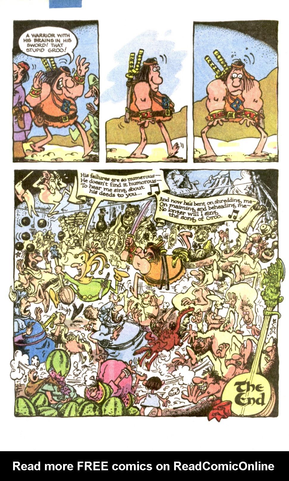 Read online Sergio Aragonés Groo the Wanderer comic -  Issue #1 - 22