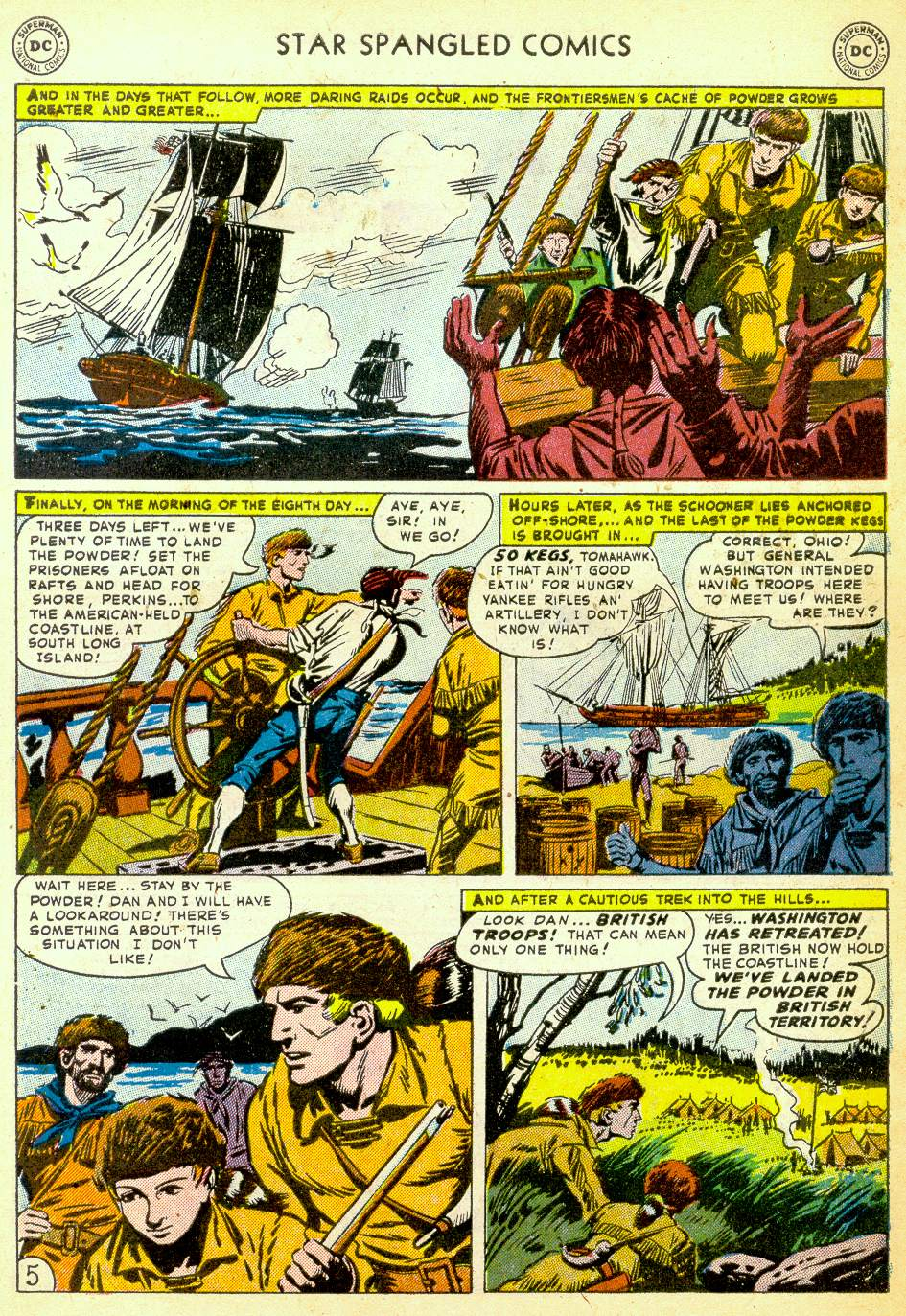 Star Spangled Comics (1941) issue 123 - Page 37