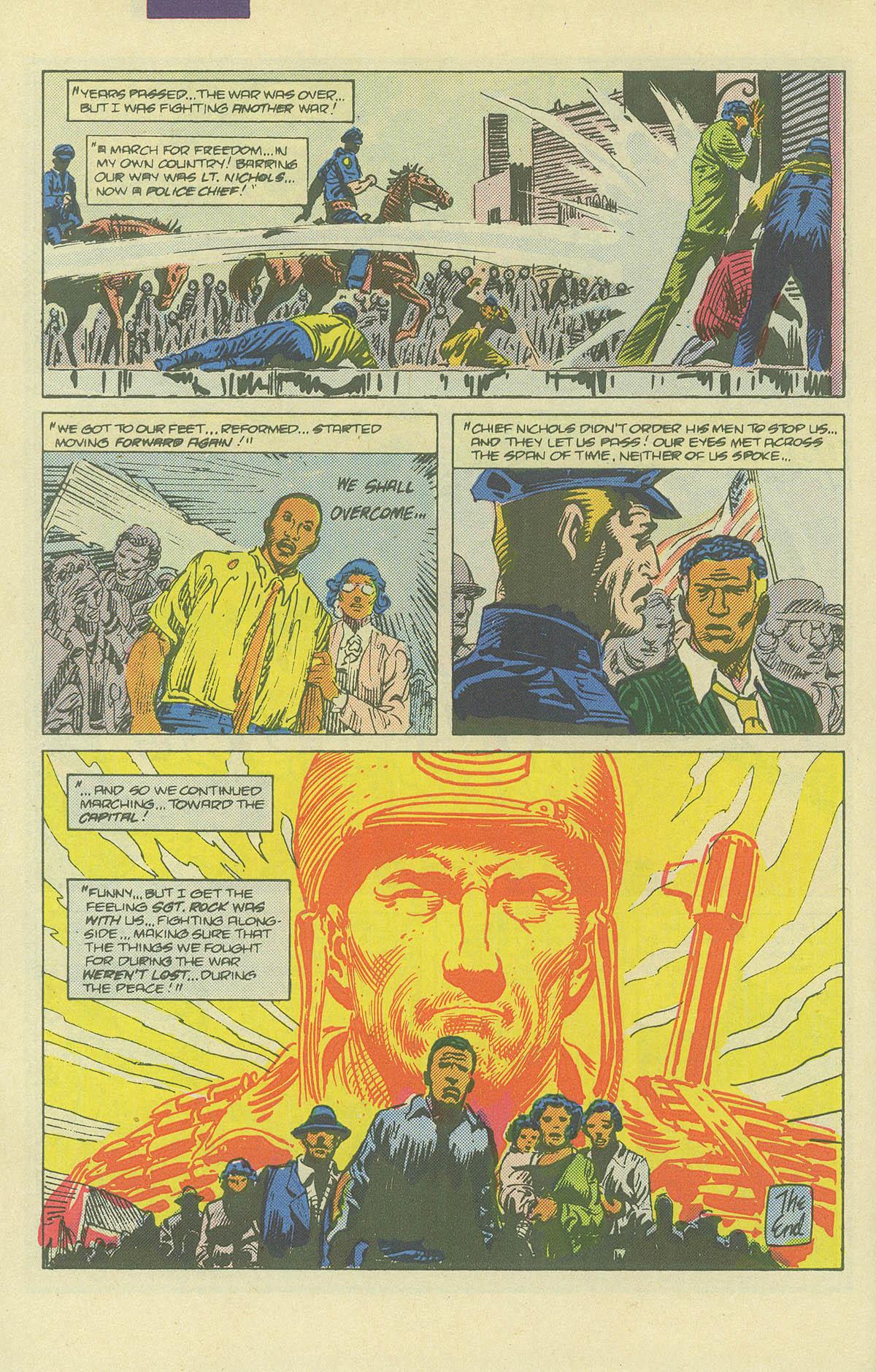 Read online Sgt. Rock comic -  Issue #406 - 31