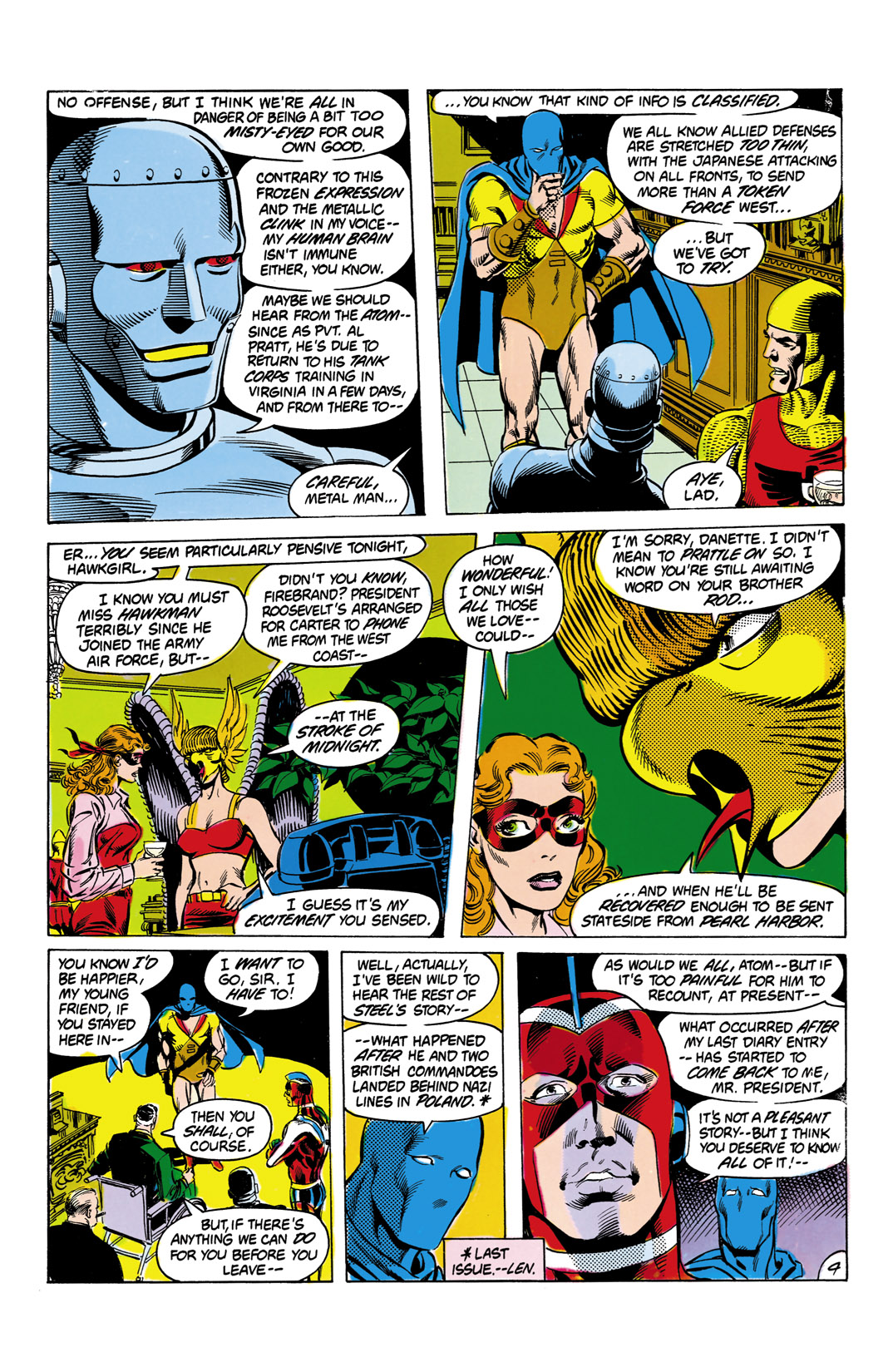 Read online All-Star Squadron comic -  Issue #9 - 5