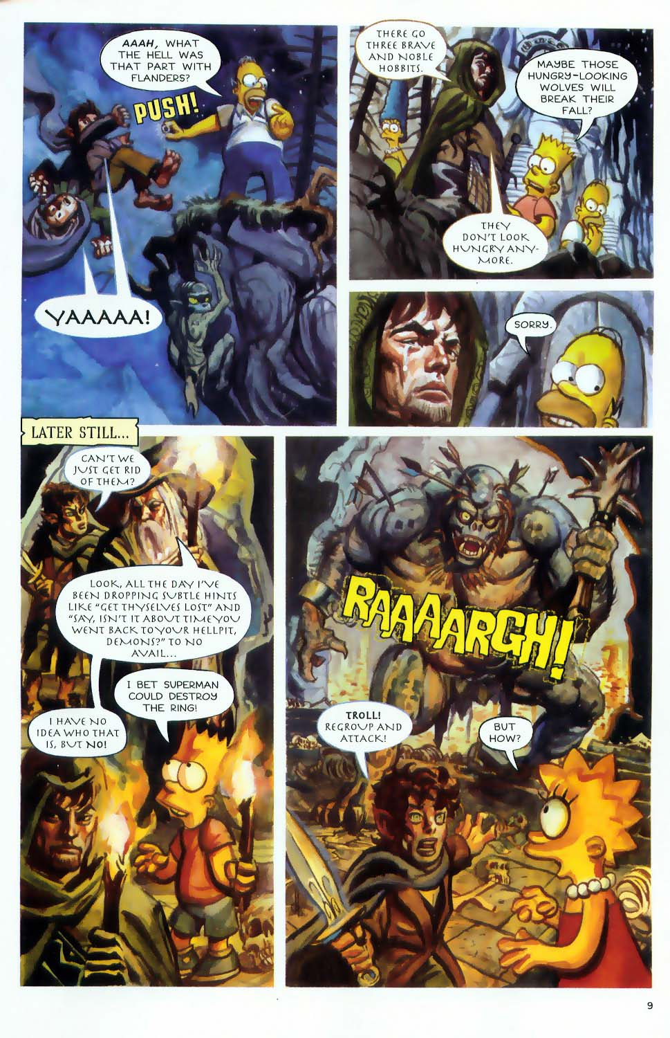 Read online Treehouse of Horror comic -  Issue #9 - 11