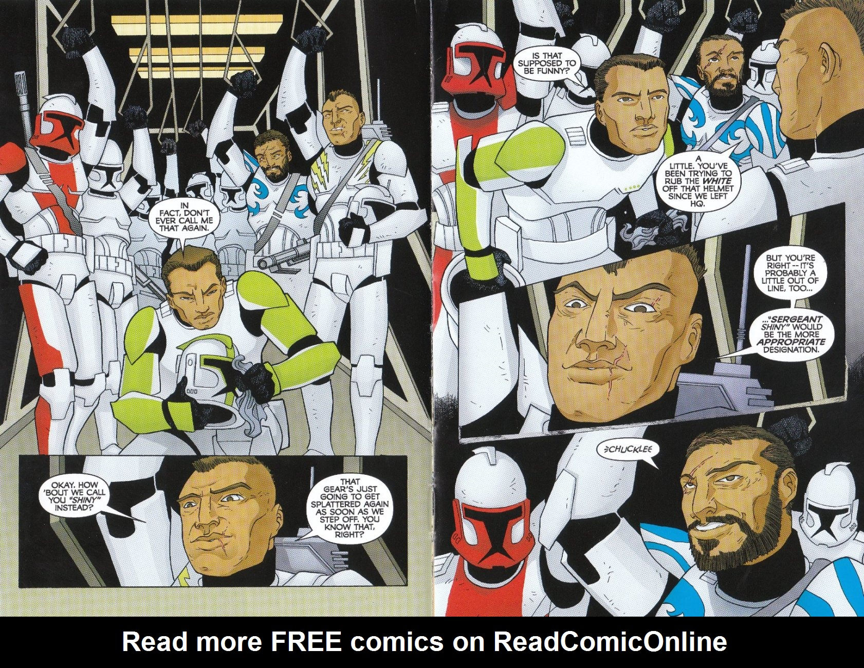 Read online Star Wars: The Clone Wars - The Enemy Within comic -  Issue # Full - 5