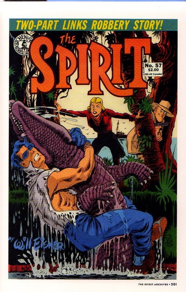 Read online Will Eisner's The Spirit Archives comic -  Issue # TPB 26 (Part 3) - 8