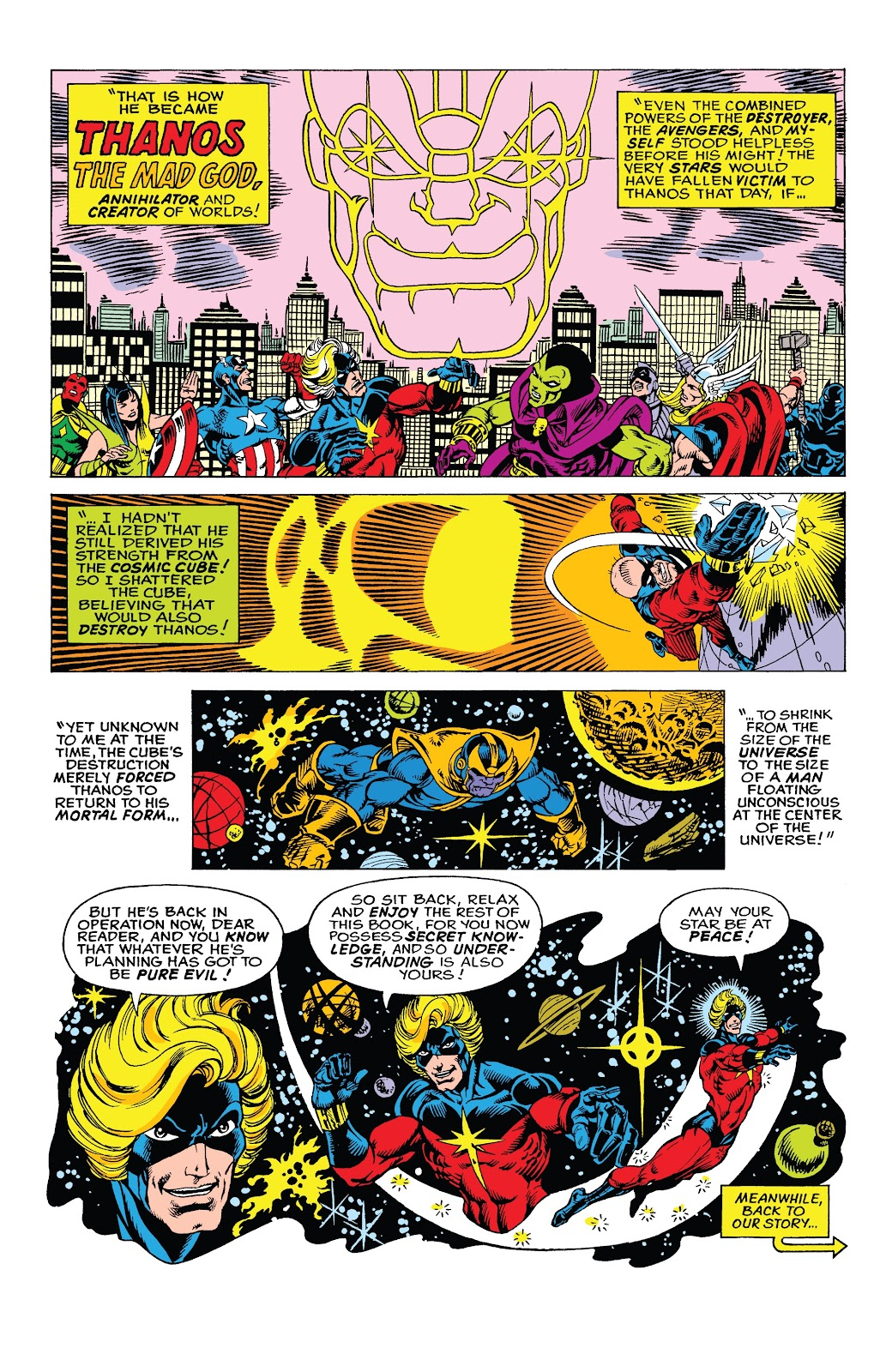 Read online Marvel Tales: Thanos comic -  Issue # Full - 17