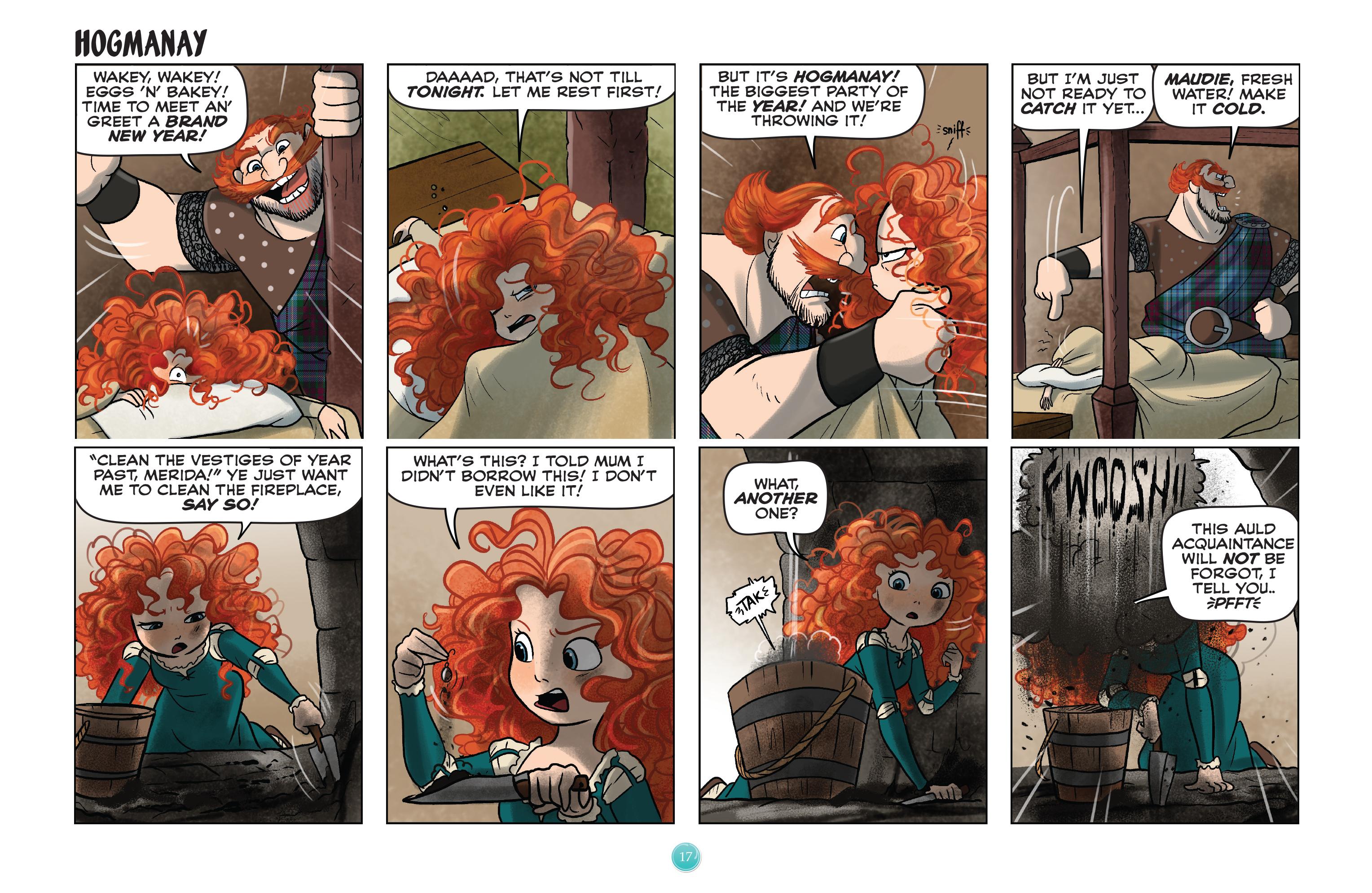 Read online Disney Princess comic -  Issue #8 - 17