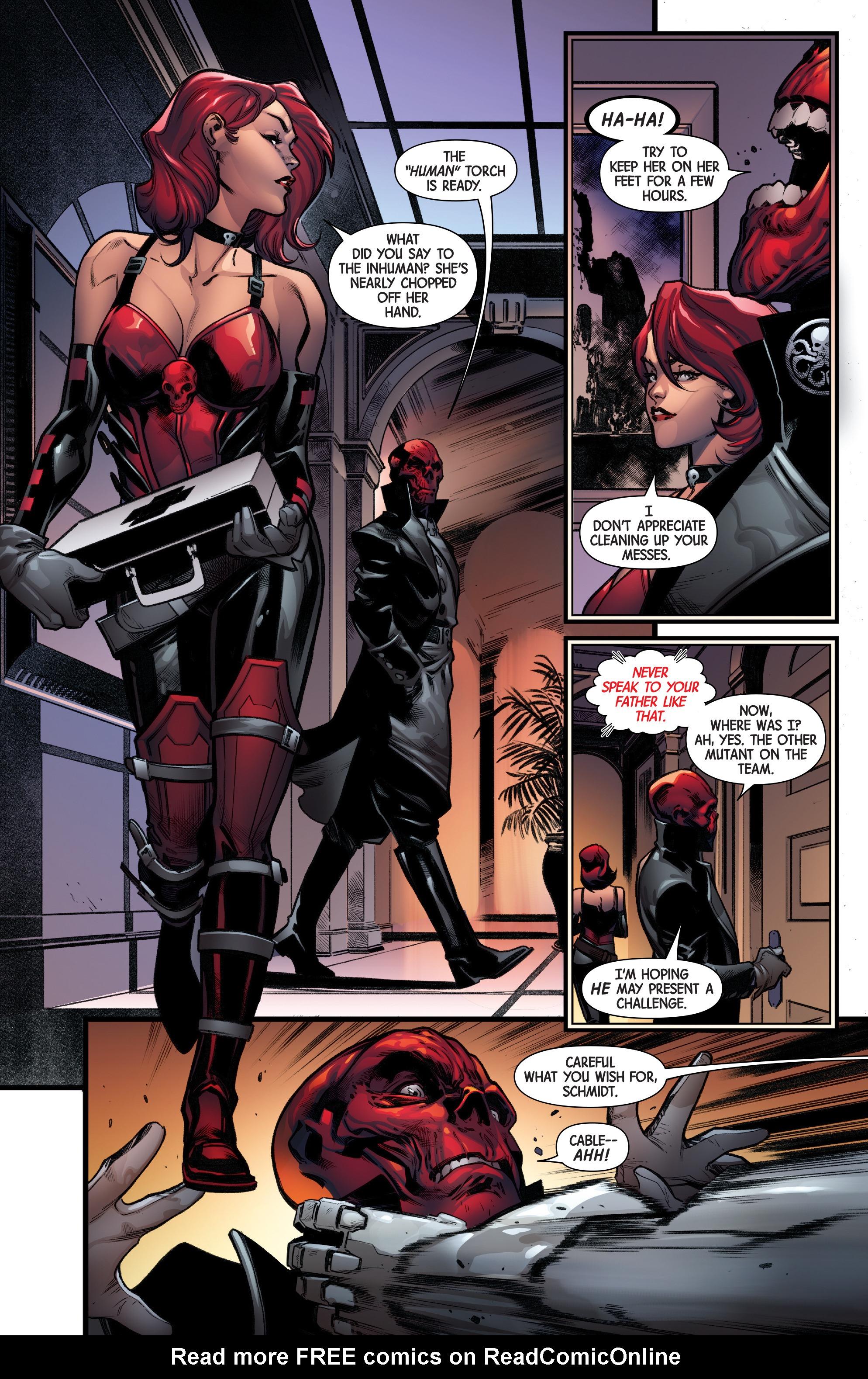 Read online Uncanny Avengers [II] comic -  Issue #19 - 12
