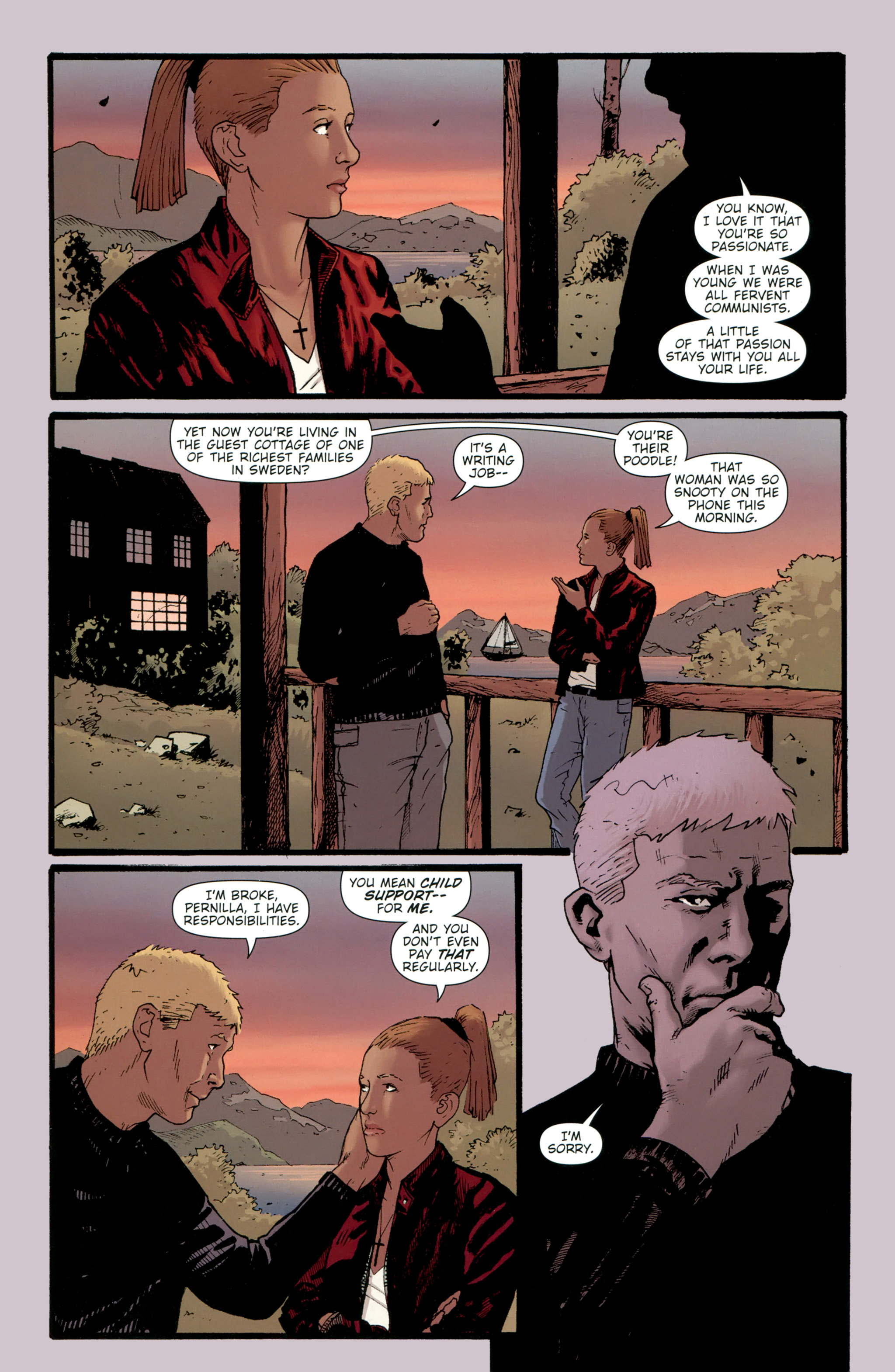 Read online The Girl With the Dragon Tattoo comic -  Issue # TPB 2 - 35
