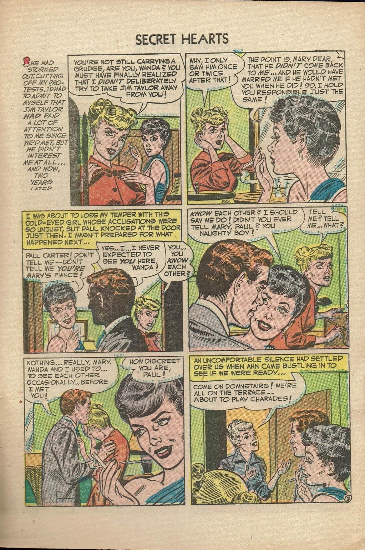 Read online Secret Hearts comic -  Issue #14 - 29