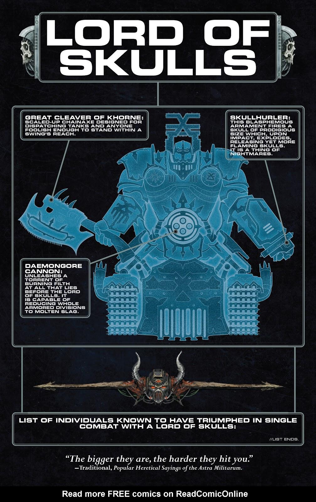 Warhammer 40,000: Marneus Calgar issue 5 - Page 5
