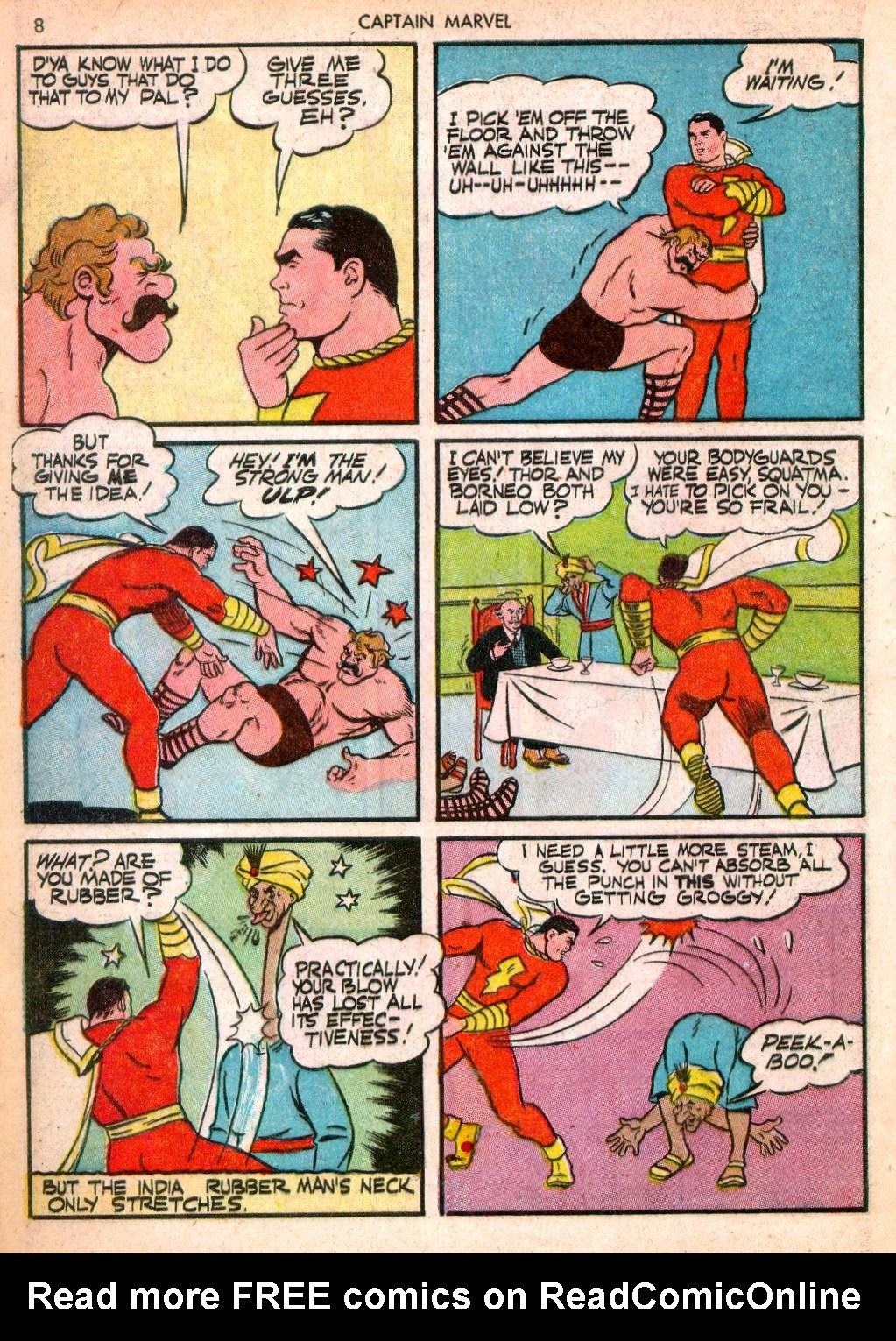Captain Marvel Adventures issue 10 - Page 8