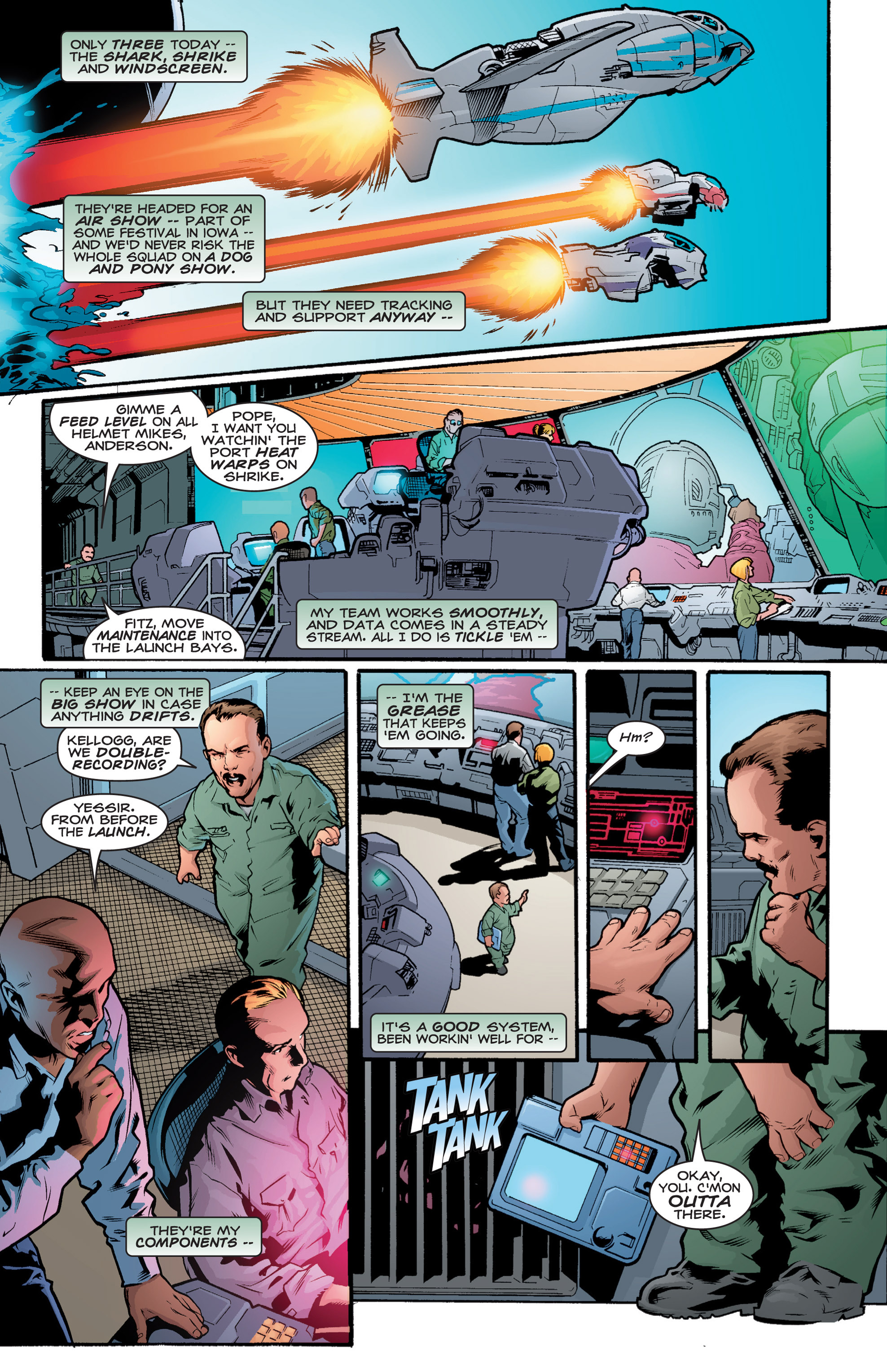 Read online Shockrockets comic -  Issue # TPB - 83