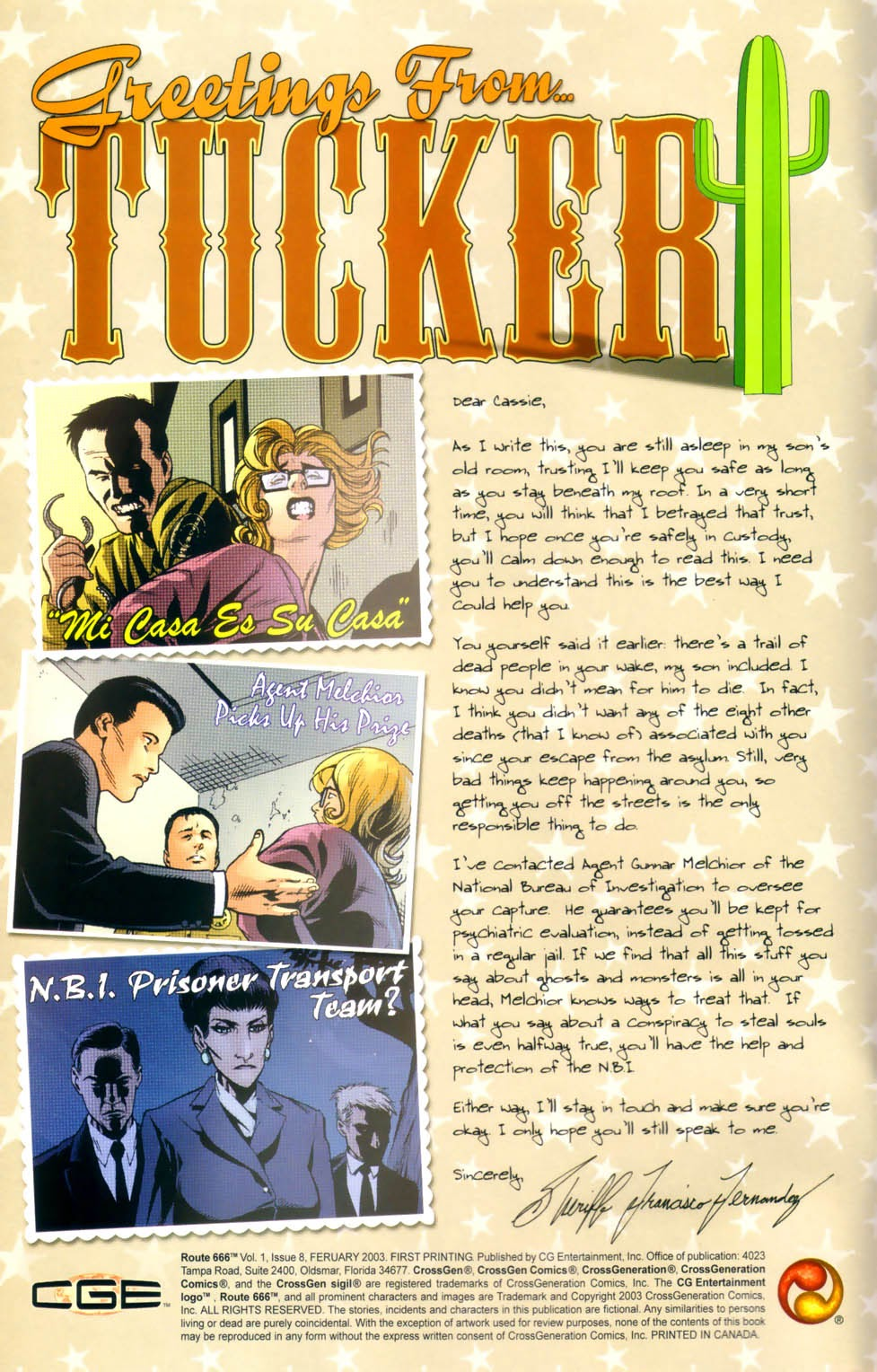Read online Route 666 comic -  Issue #8 - 4