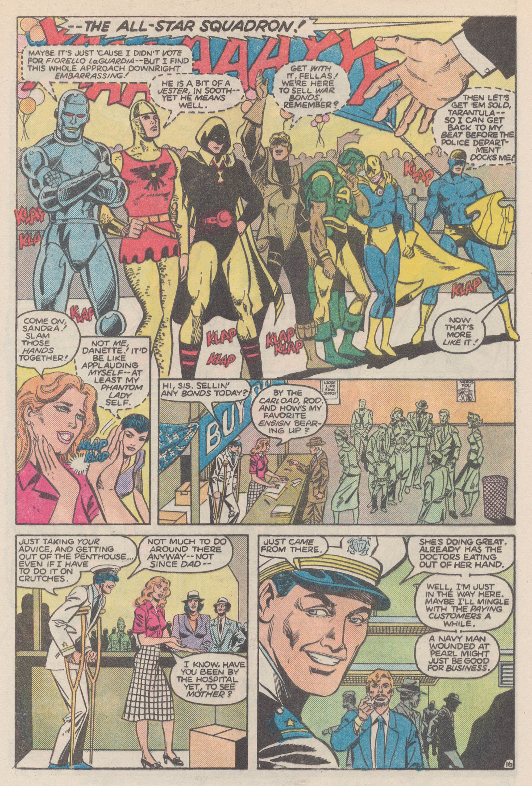 Read online All-Star Squadron comic -  Issue #50 - 21