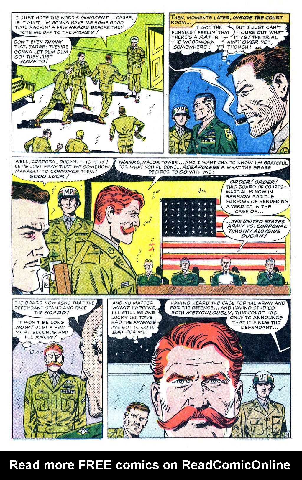 Read online Sgt. Fury comic -  Issue #60 - 20