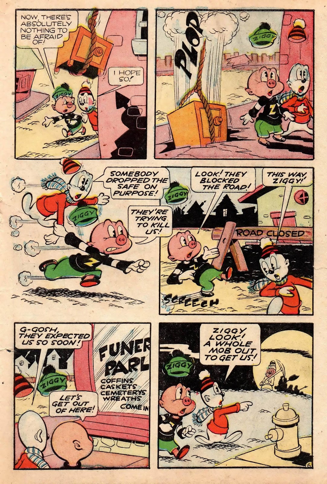 Ziggy Pig-Silly Seal Comics (1944) issue 2 - Page 39