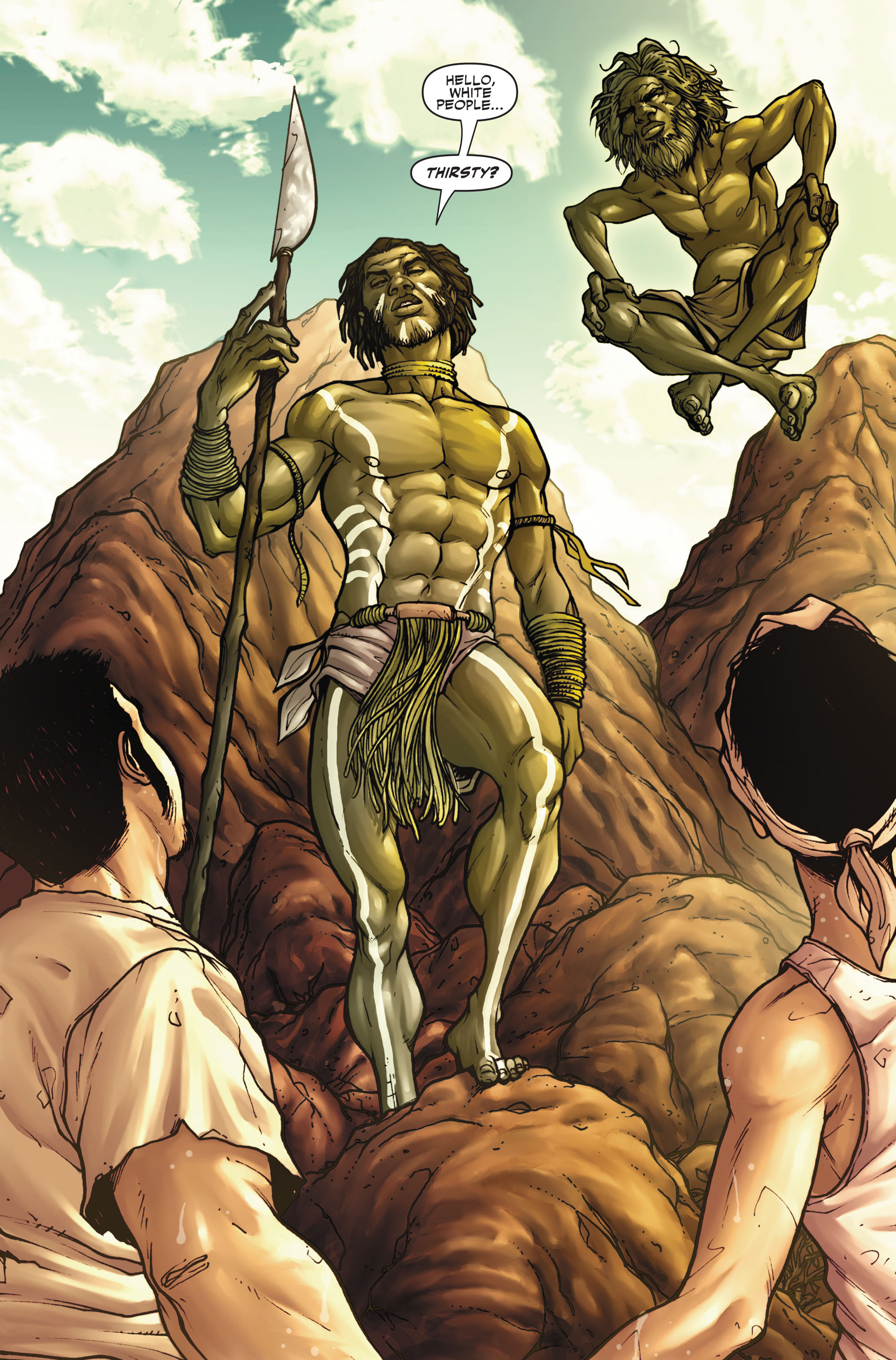 Read online Secret Warriors comic -  Issue #4 - 6