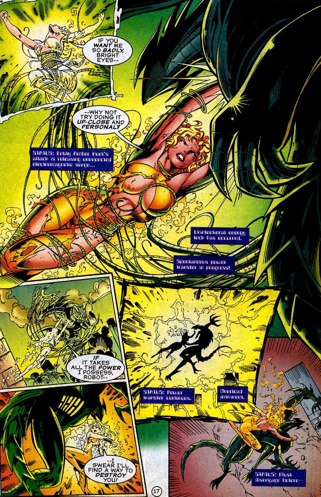 Read online UltraForce (1995) comic -  Issue #12 - 19