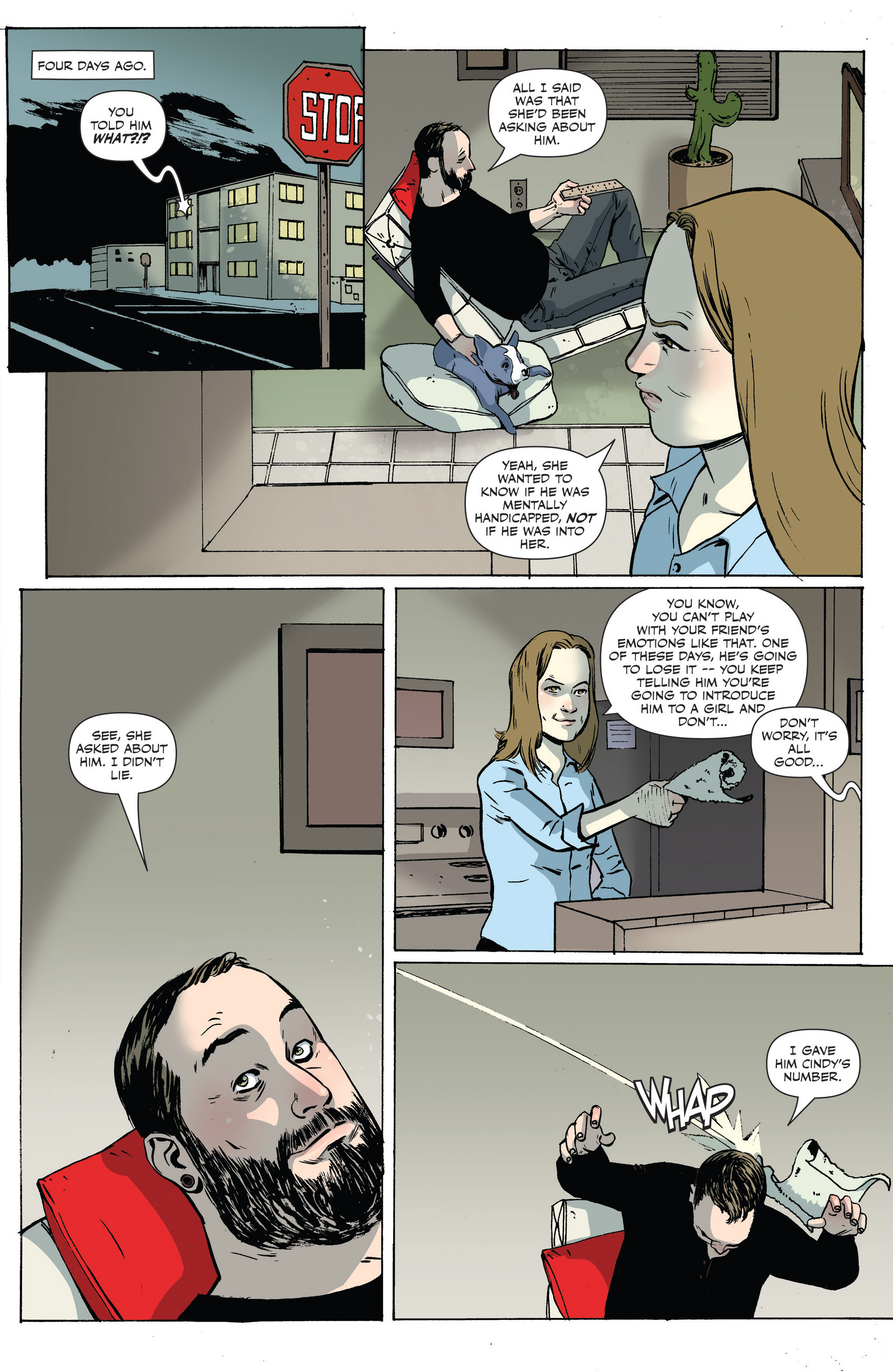 Read online Sheltered comic -  Issue #6 - 9