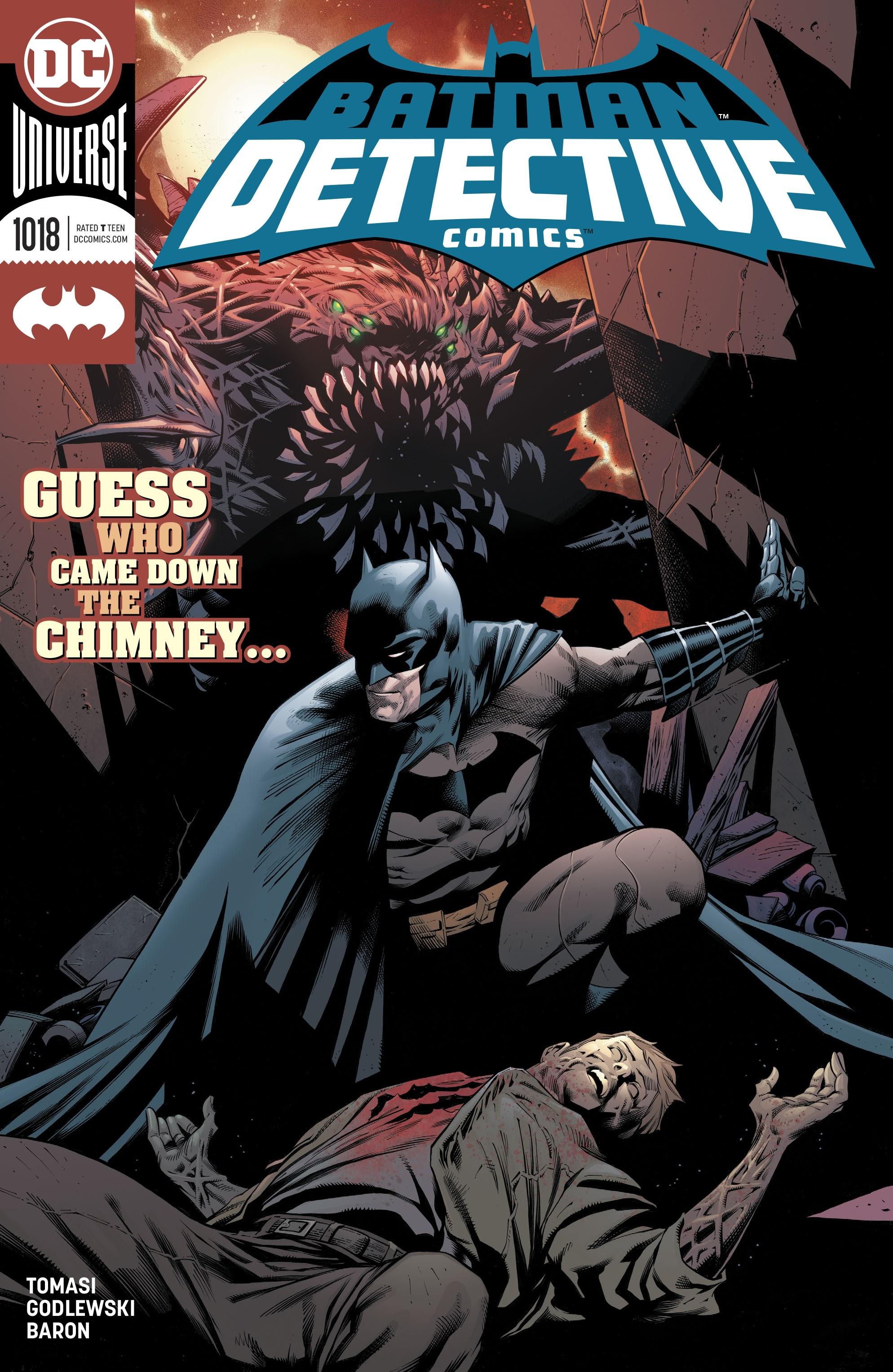Detective Comics (2016) 1018 Page 1