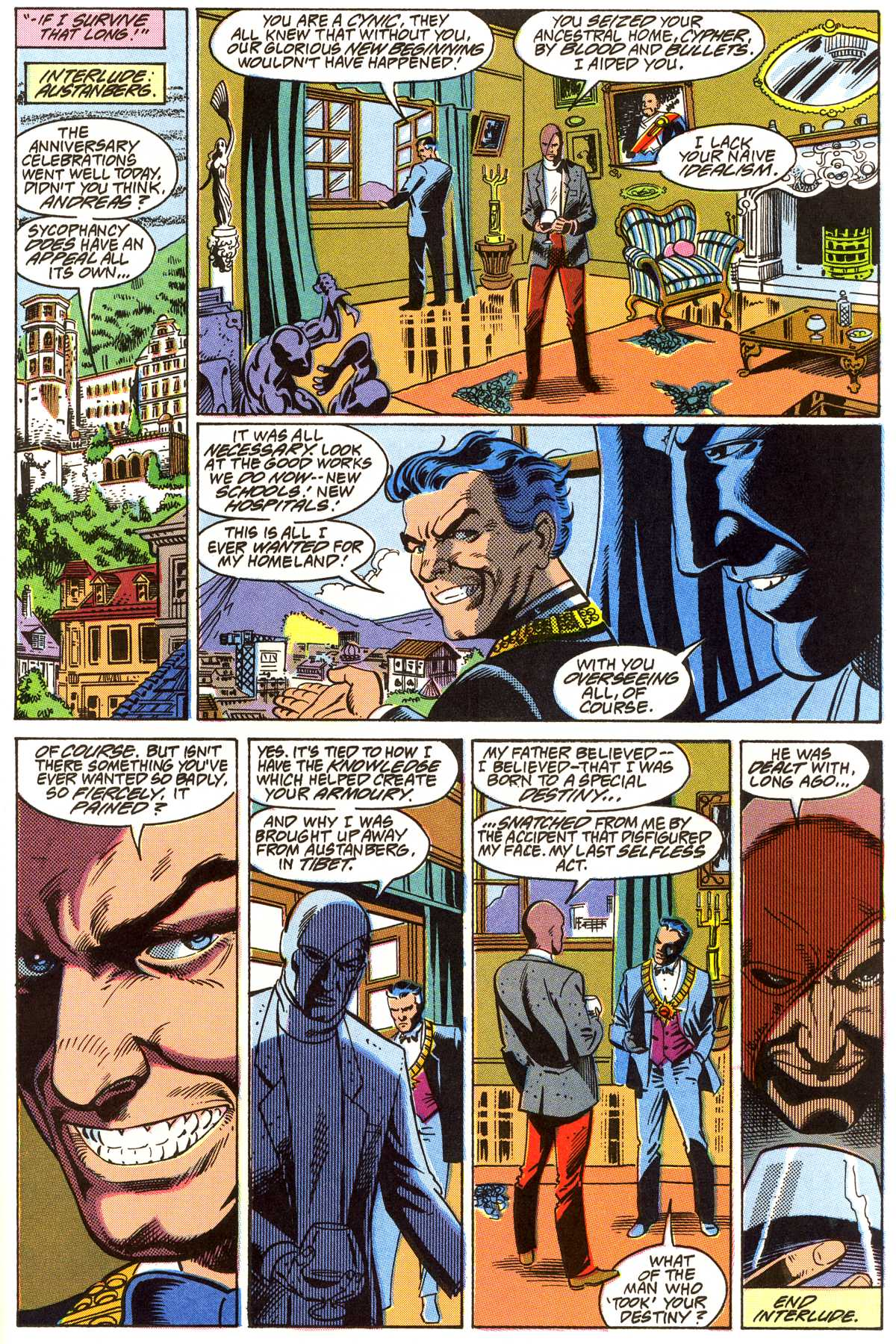 Read online Peter Cannon--Thunderbolt (1992) comic -  Issue #4 - 18