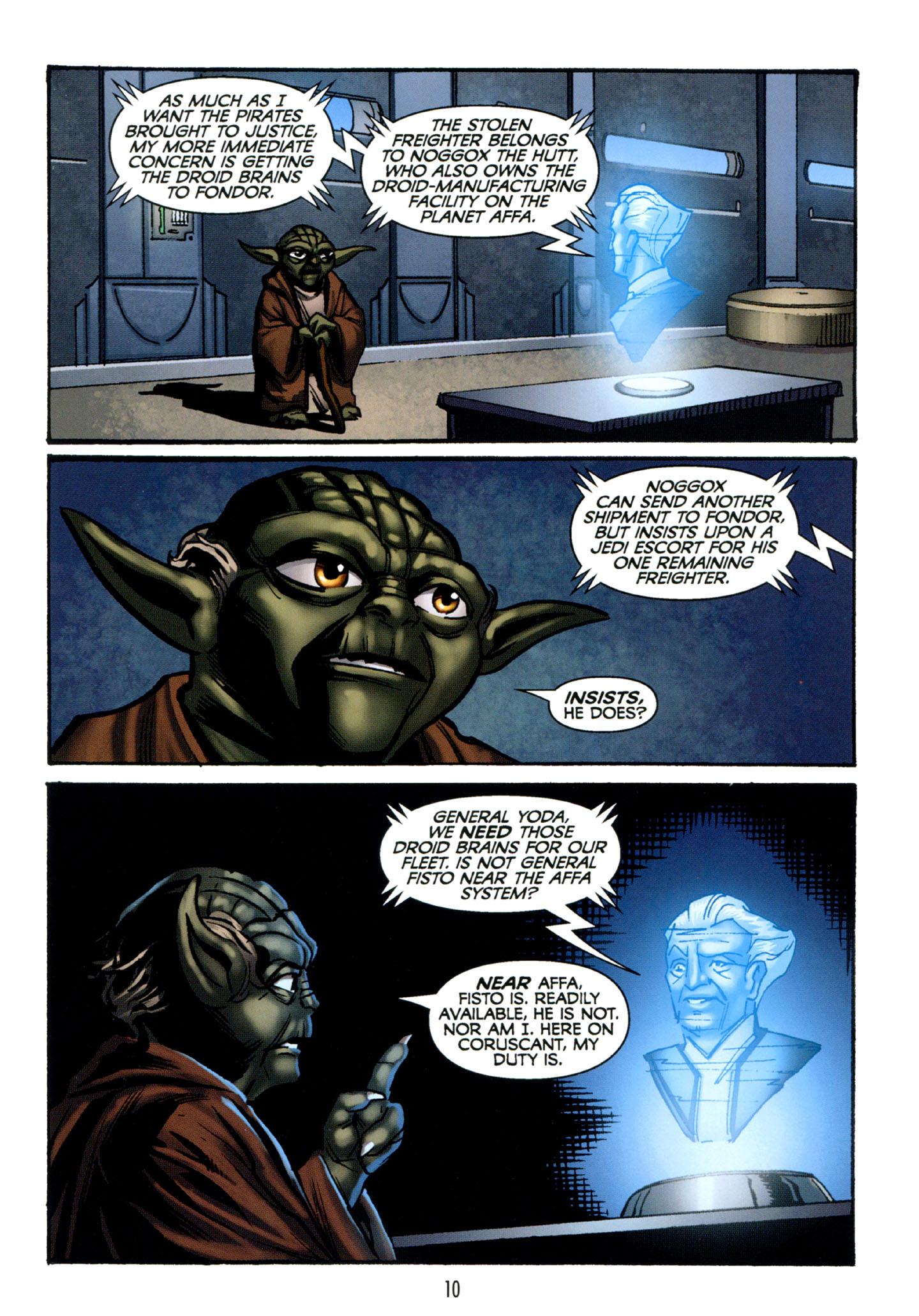 Read online Star Wars: The Clone Wars - Strange Allies comic -  Issue # Full - 11