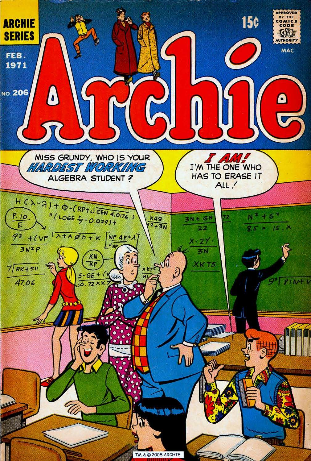 Read online Archie (1960) comic -  Issue #206 - 1