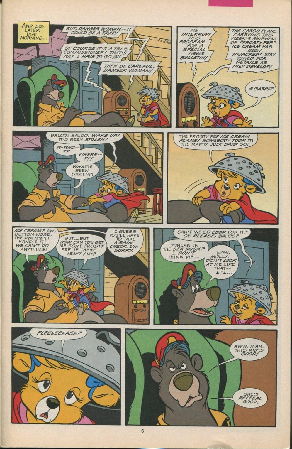 Read online Disney's Tale Spin comic -  Issue #6 - 7