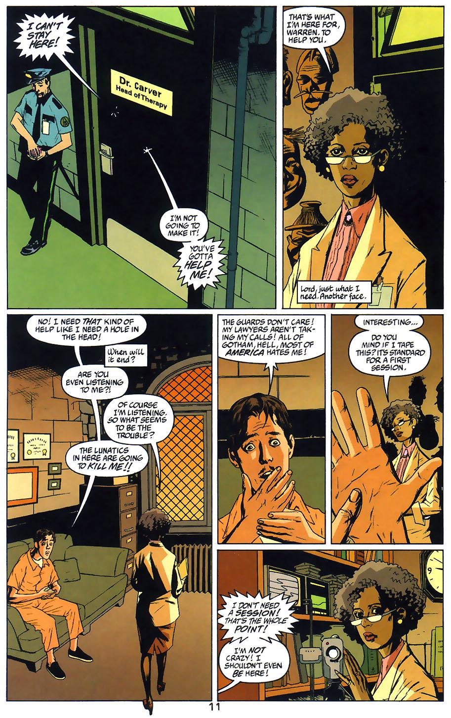 Read online Arkham Asylum: Living Hell comic -  Issue #1 - 13
