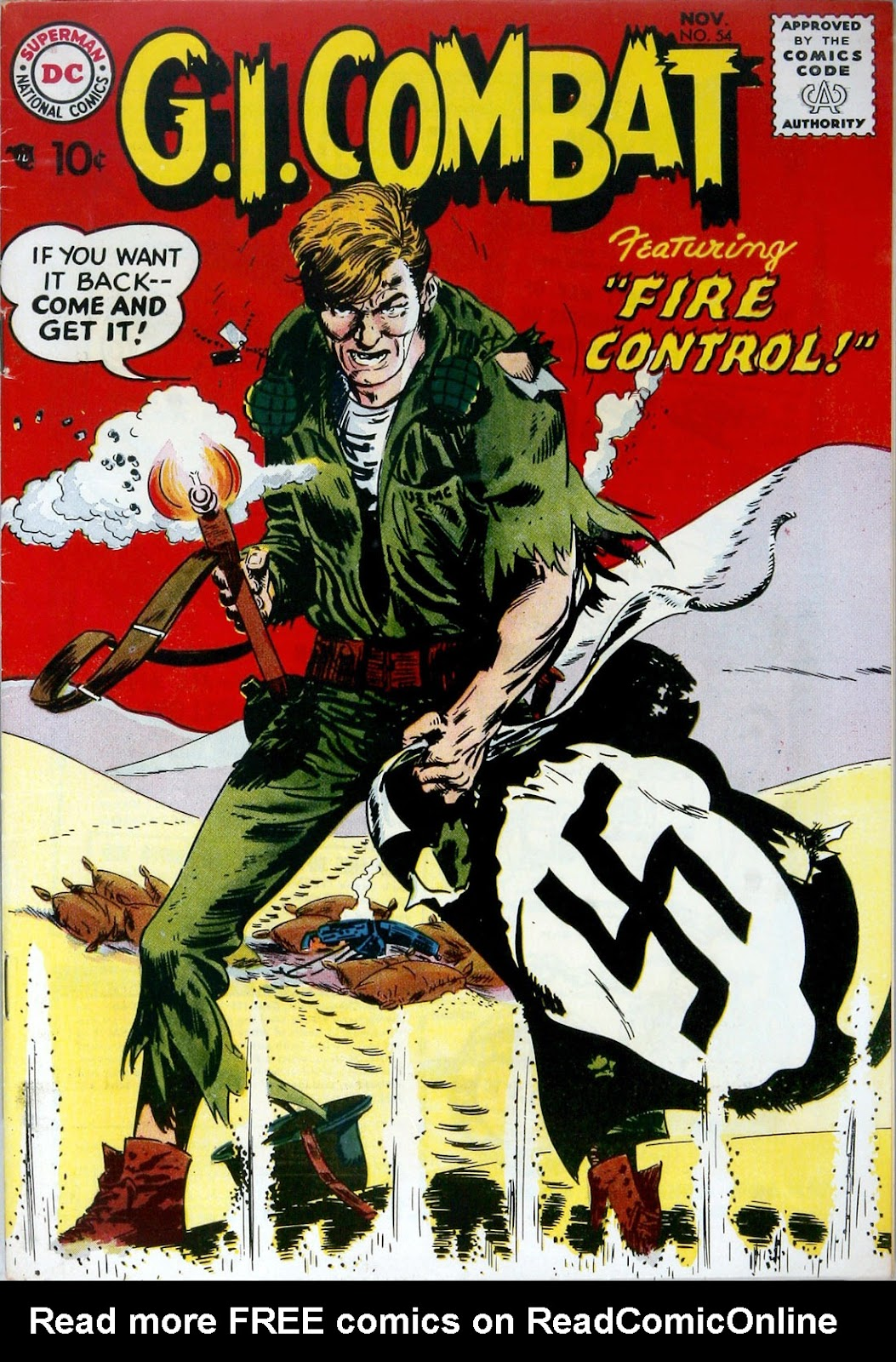G.I. Combat (1952) issue 54 - Page 1