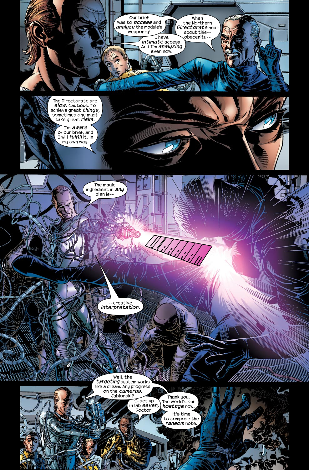 Read online Ultimate Vision comic -  Issue #2 - 5