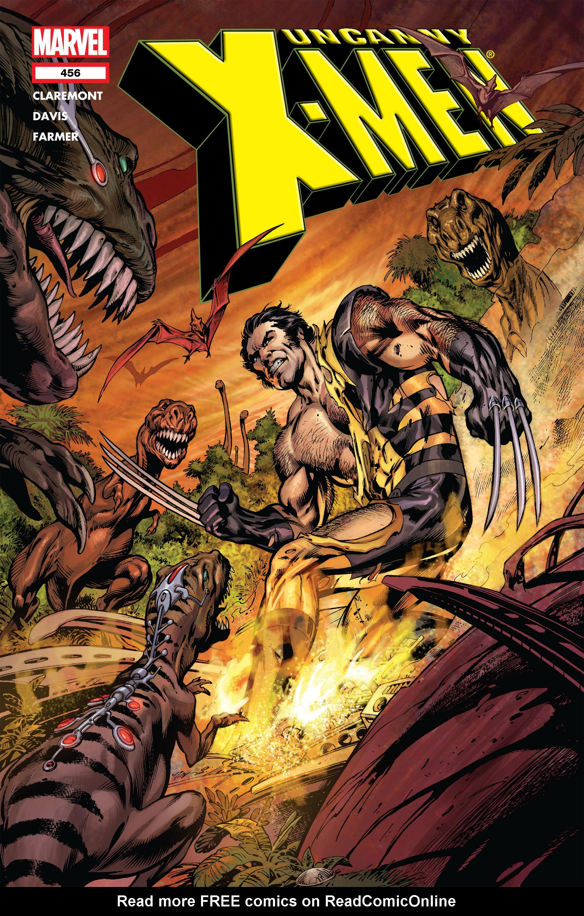 Uncanny X-Men (1963) 456 Page 1