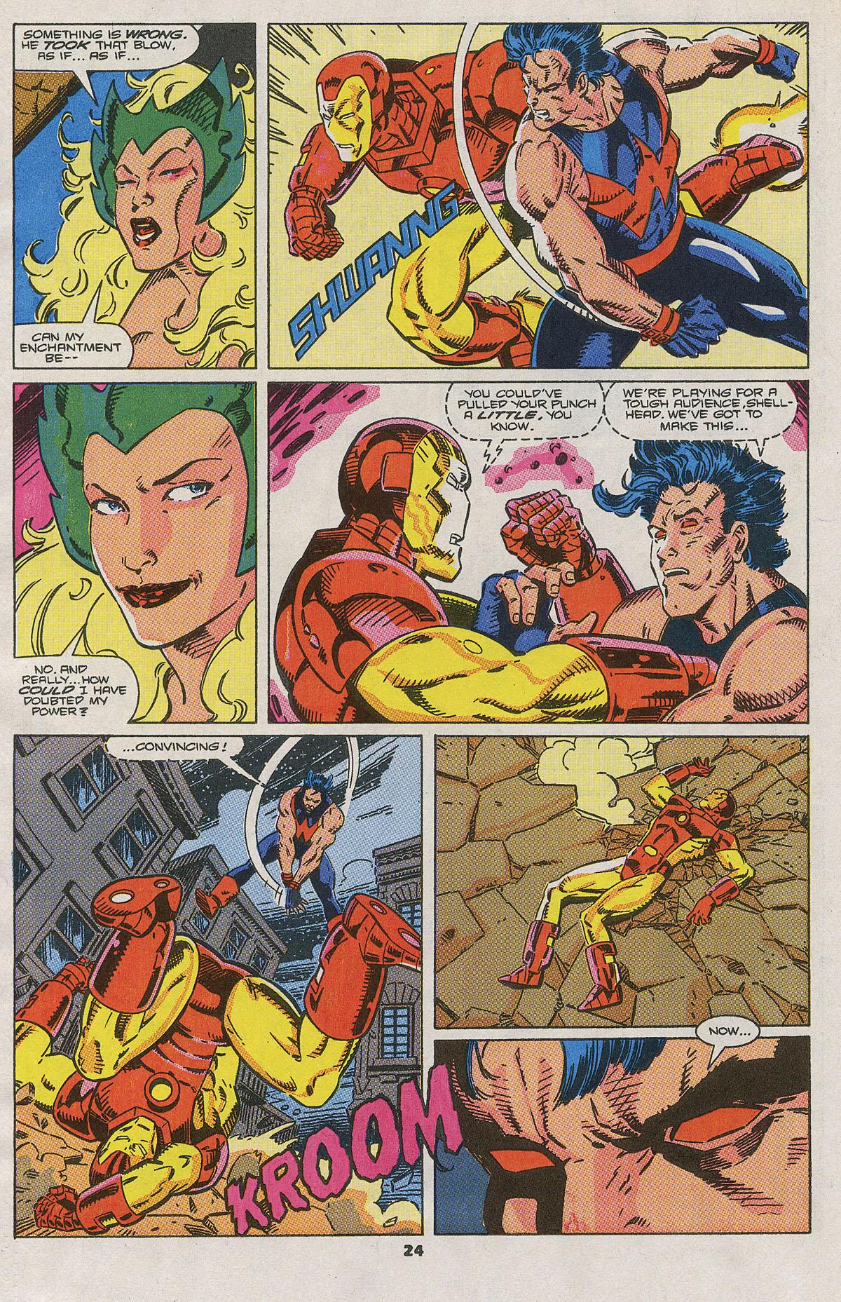 Read online Wonder Man (1991) comic -  Issue #2 - 19
